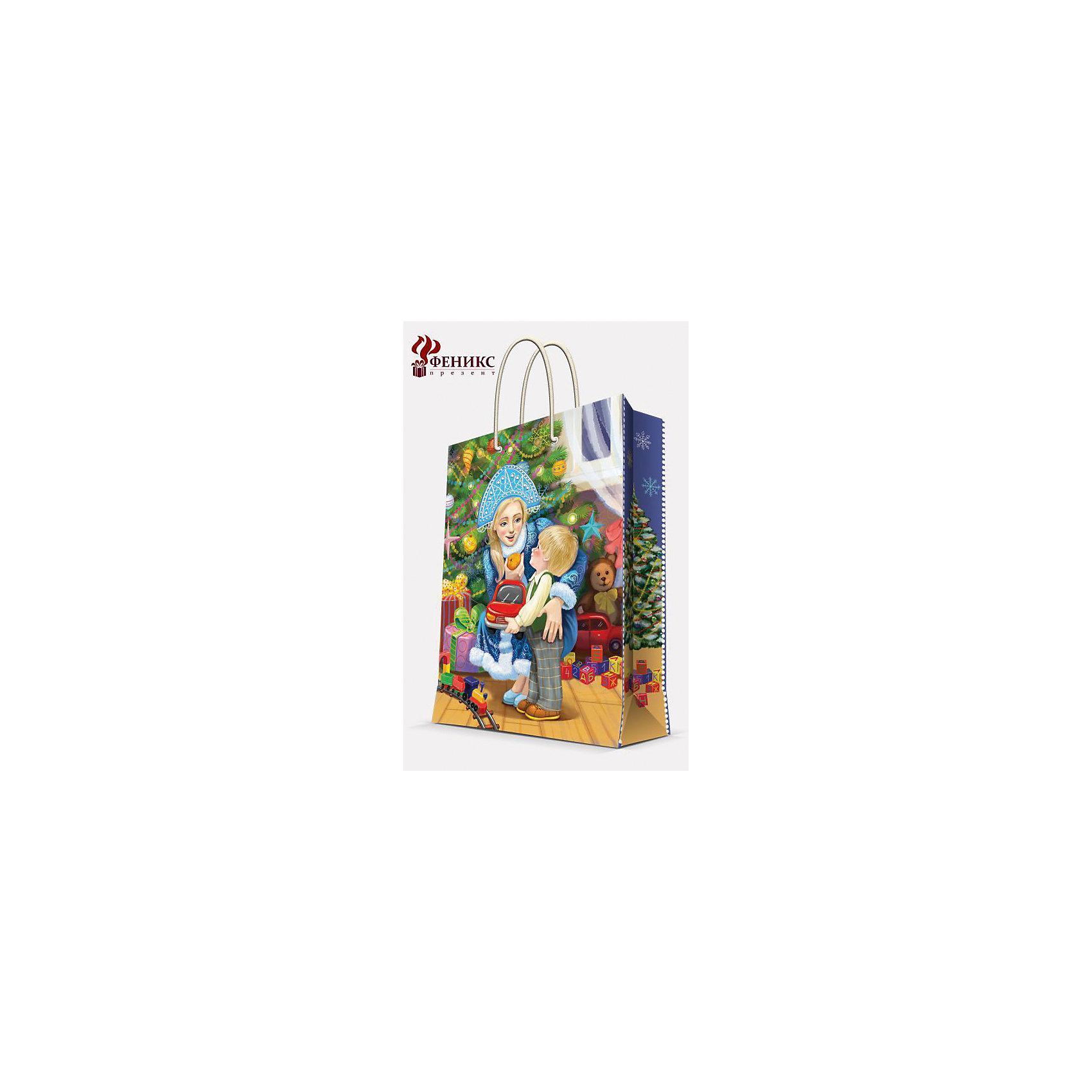 Подарочный пакет Снегурочка 17,8*22,9*9,8 смНовинки Новый Год<br>Подарочный пакет Снегурочка 17,8*22,9*9,8 см - этот яркий аксессуар станет достойным украшением новогоднего подарка.<br>Подарочный пакет Снегурочка XS поможет красиво оформить новогодний подарок для родных и друзей. Яркий пакет с изображением милой Снегурочки и очаровательного малыша сделает Ваш подарок эффектным и запоминающимся. Пакет с ламинацией выполнен из плотной бумаги, имеет широкое основание. Для удобной переноски предусмотрены две ручки из шнурков.<br><br>Дополнительная информация:<br><br>- Размер: 17,8 х 22,9 х 9,8 см.<br>- Шириной основания: 17,8 см.<br>- Ламинированный<br>- Ручки: шнурки<br>- Материал: бумага<br>- Плотность: 140 г/м2<br><br>Подарочный пакет Снегурочка 17,8*22,9*9,8 см можно купить в нашем интернет-магазине.<br><br>Ширина мм: 1<br>Глубина мм: 180<br>Высота мм: 230<br>Вес г: 42<br>Возраст от месяцев: 36<br>Возраст до месяцев: 2147483647<br>Пол: Унисекс<br>Возраст: Детский<br>SKU: 4274756