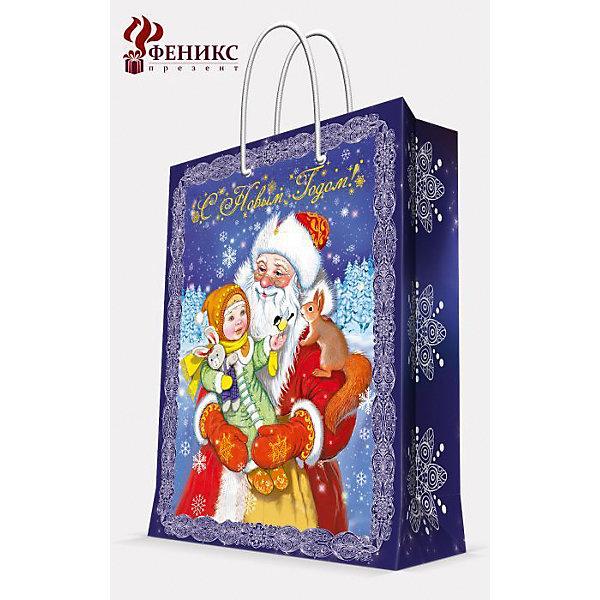 Подарочный пакет Дед Мороз 17,8*22,9*9,8 смНовинки Новый Год<br>Подарочный пакет Дед Мороз 17,8*22,9*9,8 см - этот яркий аксессуар станет достойным украшением новогоднего подарка.<br>Подарочный пакет Дед Мороз XS поможет красиво оформить новогодний подарок для родных и друзей. Яркий пакет с изображением Деда Мороза и маленькой девочки на фоне заснеженного леса сделает Ваш подарок эффектным и запоминающимся. Пакет с ламинацией выполнен из плотной бумаги, имеет широкое основание. Для удобной переноски предусмотрены две ручки из шнурков.<br><br>Дополнительная информация:<br><br>- Размер: 17,8 х 22,9 х 9,8 см.<br>- Шириной основания: 17,8 см.<br>- Ламинированный<br>- Ручки: шнурки<br>- Материал: бумага<br>- Плотность: 140 г/м2<br><br>Подарочный пакет Дед Мороз 17,8*22,9*9,8 см можно купить в нашем интернет-магазине.<br><br>Ширина мм: 1<br>Глубина мм: 180<br>Высота мм: 230<br>Вес г: 42<br>Возраст от месяцев: 36<br>Возраст до месяцев: 2147483647<br>Пол: Унисекс<br>Возраст: Детский<br>SKU: 4274757