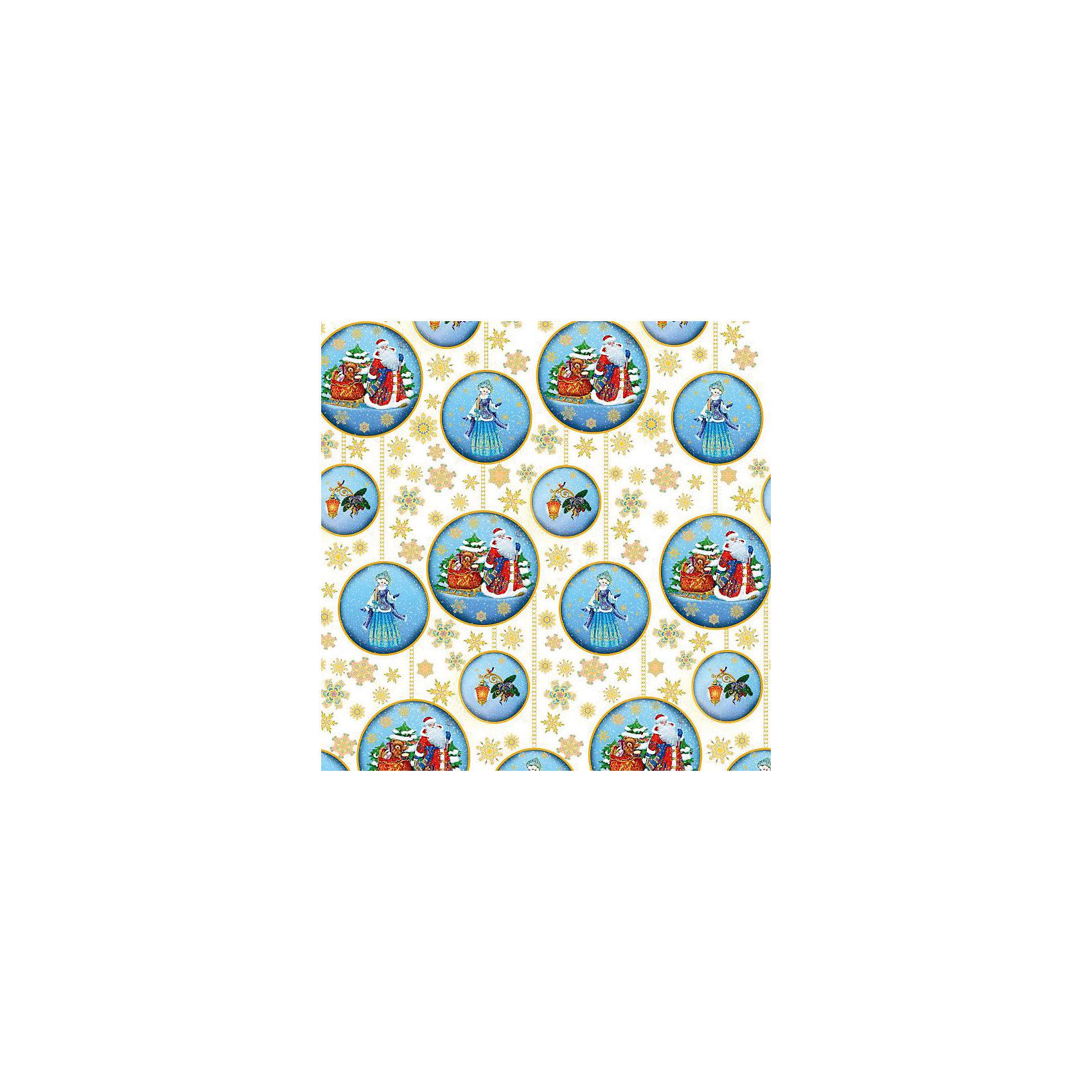 Упаковочная бумага Дед Мороз и Снегурочка 100*70 см (в рулоне)Новинки Новый Год<br>Упаковочная бумага Дед Мороз и Снегурочка 100*70 см (в рулоне) - этот яркий аксессуар станет достойным украшением новогоднего подарка.<br>С помощью упаковочной бумаги Дед Мороз и Снегурочка вы сможете создать восхитительную эксклюзивную упаковку для новогодних подарков родным и друзьям. Красиво упакованный подарок может зажечь фантазию получателя и подарить немало ярких впечатлений еще до того, как он развернет его. Мелованная бумага оформлена с одной стороны полноцветным декоративным рисунком с изображениями ажурных золотых снежинок и голубых шаров с Дедом Морозом и Снегурочкой.<br><br>Дополнительная информация:<br><br>- Размер: 100 х 70 см.<br>- Плотность 80 г/м2<br><br>Упаковочная бумага Дед Мороз и Снегурочка 100*70 см (в рулоне) - окружите близких людей вниманием и заботой, вручив новогодний презент в нарядном, праздничном оформлении.<br><br>Упаковочную бумагу Дед Мороз и Снегурочка 100*70 см (в рулоне) можно купить в нашем интернет-магазине.<br><br>Ширина мм: 10<br>Глубина мм: 10<br>Высота мм: 700<br>Вес г: 62<br>Возраст от месяцев: 36<br>Возраст до месяцев: 2147483647<br>Пол: Унисекс<br>Возраст: Детский<br>SKU: 4274771