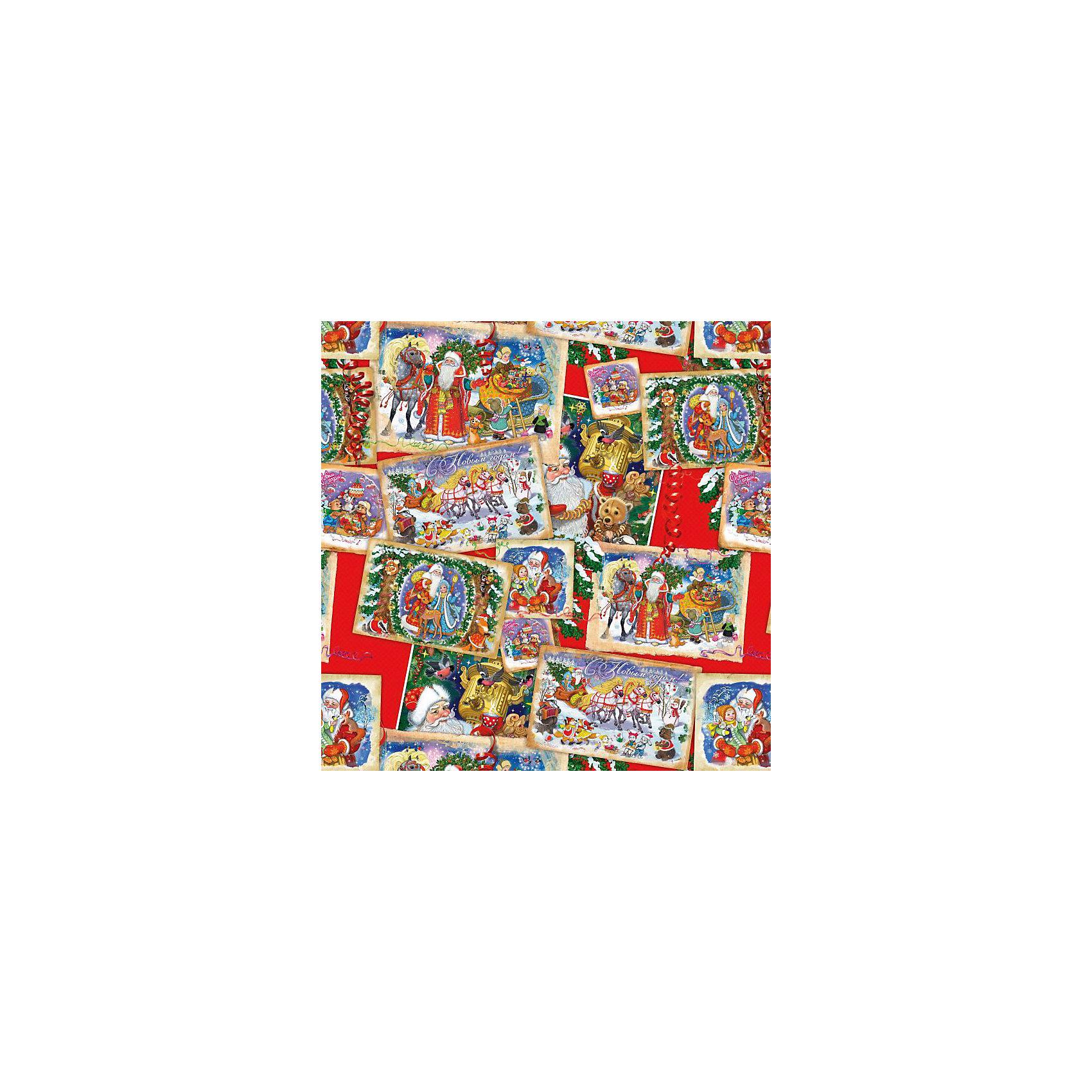 Упаковочная бумага Новогодние открытки 100*70 см (в рулоне)Новинки Новый Год<br>Упаковочная бумага Новогодние открытки 100*70 см (в рулоне) - этот яркий аксессуар станет достойным украшением новогоднего подарка.<br>С помощью упаковочной бумаги Новогодние открытки вы сможете создать восхитительную эксклюзивную упаковку для новогодних подарков родным и друзьям. Красиво упакованный подарок может зажечь фантазию получателя и подарить немало ярких впечатлений еще до того, как он развернет его. Мелованная бумага оформлена с одной стороны полноцветным декоративным рисунком с изображениями новогодних открыток.<br><br>Дополнительная информация:<br><br>- Размер: 100 х 70 см.<br>- Плотность 80 г/м2<br><br>Упаковочная бумага Новогодние открытки 100*70 см (в рулоне) - окружите близких людей вниманием и заботой, вручив новогодний презент в нарядном, праздничном оформлении.<br><br>Упаковочную бумагу Новогодние открытки 100*70 см (в рулоне) можно купить в нашем интернет-магазине.<br><br>Ширина мм: 10<br>Глубина мм: 10<br>Высота мм: 700<br>Вес г: 62<br>Возраст от месяцев: 36<br>Возраст до месяцев: 2147483647<br>Пол: Унисекс<br>Возраст: Детский<br>SKU: 4274772