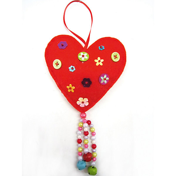 Украшение СердечкоЁлочные игрушки<br>Украшение Сердечко - этот новогодний аксессуар принесет в ваш дом волшебство и красоту праздника.<br>Украшение Сердечко прекрасно подойдет для праздничного декора дома и новогодней ели. Оригинальное украшение из полиэстера выполнено в виде сердечка и декорировано пуговицами и бусинами. С помощью петельки его можно подвесить в любое понравившееся место. Но, конечно же, удачнее всего такая игрушка будет смотреться на праздничной елке. Новогодние украшения приносят в дом волшебство и ощущение праздника. Создайте в своем доме атмосферу веселья и радости, украшая всей семьей новогоднюю елку нарядными игрушками, которые будут из года в год накапливать теплоту воспоминаний.<br><br>Дополнительная информация:<br><br>- Размер: 9,5 см.<br>- Цвет: красный<br>- Материал: полиэстер<br><br>Украшение Сердечко можно купить в нашем интернет-магазине.<br><br>Ширина мм: 20<br>Глубина мм: 130<br>Высота мм: 140<br>Вес г: 20<br>Возраст от месяцев: 36<br>Возраст до месяцев: 2147483647<br>Пол: Унисекс<br>Возраст: Детский<br>SKU: 4276421