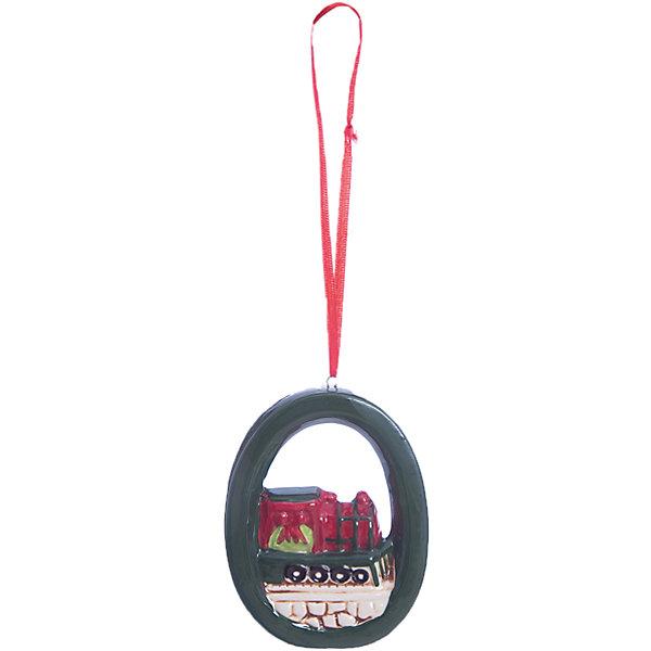 Украшение ПаровозикЁлочные игрушки<br>Новогоднее украшение – это декоративное украшение замечательно украсит интерьер.<br>Изящное новогоднее украшение выполнено из керамики и представляет собой подвеску с изображением паровоза. С помощью специальной петельки его можно повесить в любом понравившемся вам месте. Но, конечно, удачнее всего такая игрушка будет смотреться на праздничной елке. Новогодние украшения приносят в дом волшебство и ощущение праздника. Создайте в своем доме атмосферу веселья и радости, украшая новогоднюю елку нарядными игрушками, которые будут из года в год накапливать теплоту воспоминаний.<br><br>Дополнительная информация:<br><br>- Размер: 6,5 х 9 х 1,5 см.<br>- Материал: керамика<br><br>Новогоднее украшение принесет в ваш дом ни с чем несравнимое ощущение волшебства!<br><br>Новогоднее украшение можно купить в нашем интернет-магазине.<br><br>Ширина мм: 80<br>Глубина мм: 100<br>Высота мм: 30<br>Вес г: 104<br>Возраст от месяцев: 36<br>Возраст до месяцев: 2147483647<br>Пол: Унисекс<br>Возраст: Детский<br>SKU: 4276462