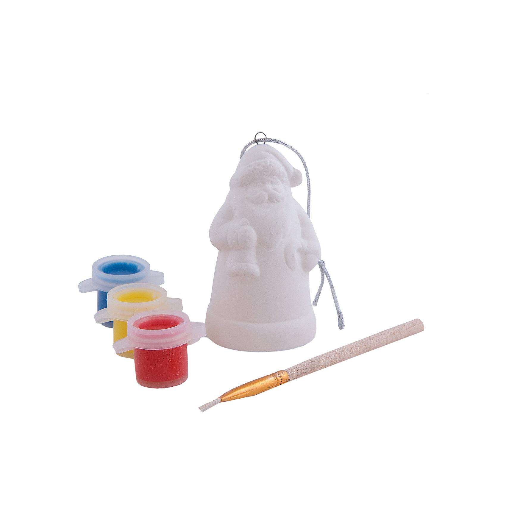 Набор для раскрашивания (керамика, 1 фигурка)Набор для раскрашивания (керамика, 1 фигурка)<br>Набор для раскрашивания станет приятным новогодним сюрпризом для Вашего ребенка. В комплект входит керамическая фигурка Деда Мороза, которую надо раскрасить понравившимися цветами, кисточка и краски. Готовая игрушка замечательно украсит Ваш новогодний интерьер и поможет создать праздничную волшебную атмосферу.<br><br>Дополнительная информация:<br><br>- В наборе: керамическая фигурка, три краски (желтая, красная, синяя), кисть<br>- Размер фигурки: 5,5 х 7,5 см.<br><br>Набор для раскрашивания (керамика, 1 фигурка) можно купить в нашем интернет-магазине.<br><br>Ширина мм: 230<br>Глубина мм: 230<br>Высота мм: 30<br>Вес г: 667<br>Возраст от месяцев: 36<br>Возраст до месяцев: 2147483647<br>Пол: Унисекс<br>Возраст: Детский<br>SKU: 4276464