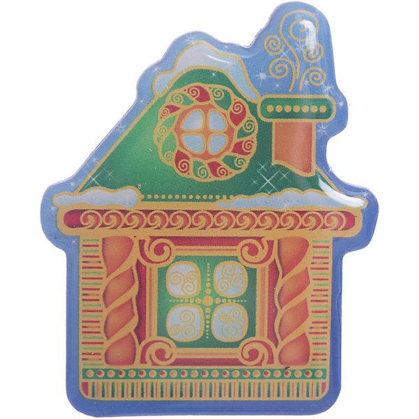 Магнит ДомНовогодние сувениры<br>Магнит – этот новогодний аксессуар отличный мини-презент для друзей и близких.<br>Магнит послужит не только хорошим дополнением к основному подарку, но и прекрасным украшением любой плоской металлической поверхности. Магнит выполнен в виде сказочного домика. Магнит вызывает исключительно положительные эмоции и создает праздничную атмосферу в доме.<br><br>Дополнительная информация:<br><br>- Размер: 6,5 х 5,5 см.<br>- Материал: агломерированный феррит<br><br>Магнит можно купить в нашем интернет-магазине.<br><br>Ширина мм: 75<br>Глубина мм: 65<br>Высота мм: 10<br>Вес г: 40<br>Возраст от месяцев: 36<br>Возраст до месяцев: 2147483647<br>Пол: Унисекс<br>Возраст: Детский<br>SKU: 4276477