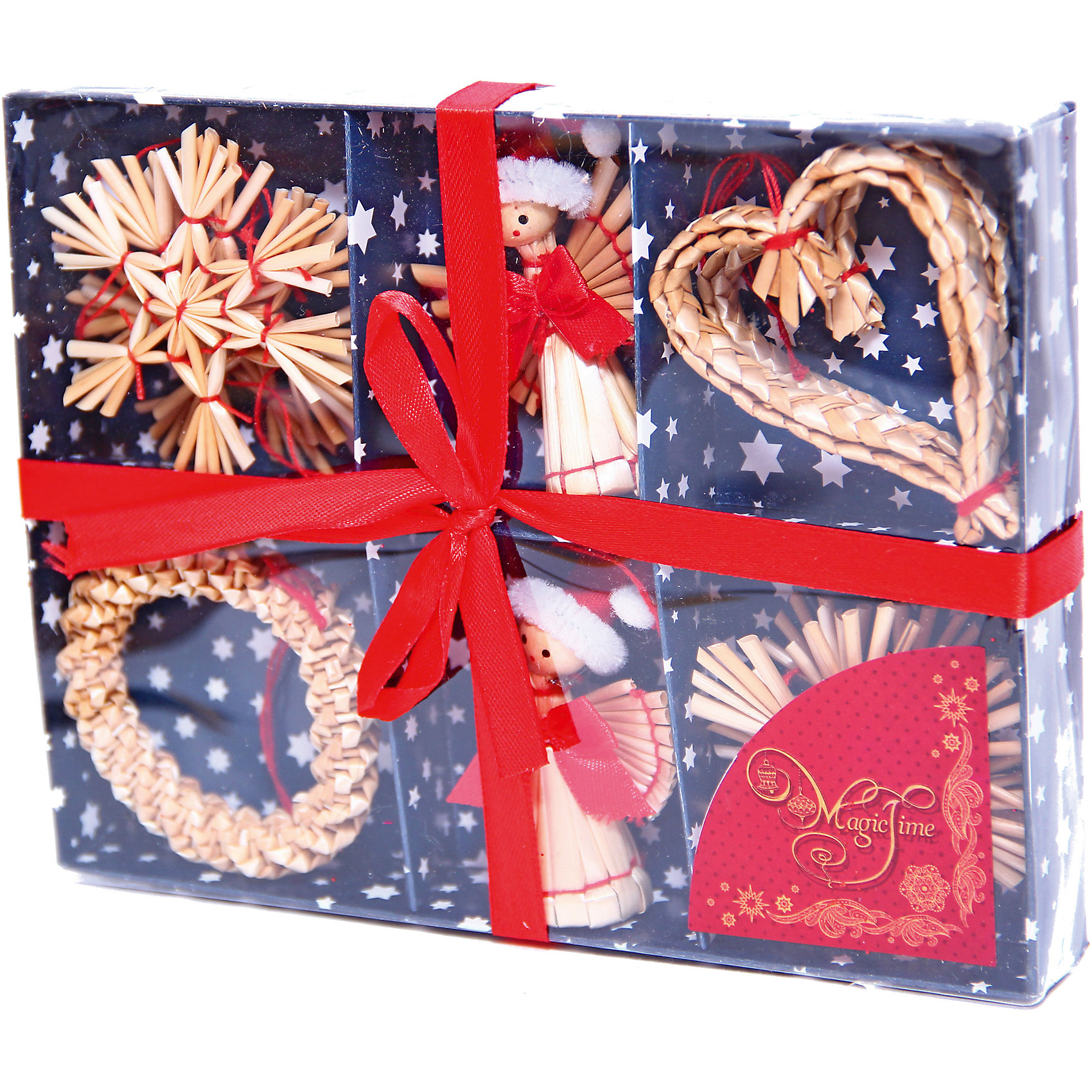 Украшение Ангелы 17*13*2,5 смУкрашение Ангелы, Феникс-Презент, замечательно украсит Вашу елку или интерьер на новогодние и рождественские праздники и создаст праздничную волшебную атмосферу. В комплекте 11 украшений из соломки в виде фигурок ангелов, сердечек и звездочек. Поверхность игрушек покрыта лаком, имеются петельки, за которые их можно повесить в любом понравившемся Вам месте.<br><br>Дополнительная информация:<br><br>- Материал: соломка.<br>- Размер украшения: 6 см.<br>- Размер упаковки: 17 х 13 х 2,5 см.<br><br>Украшение Ангелы, Феникс-Презент, можно купить в нашем интернет-магазине.<br><br>Ширина мм: 180<br>Глубина мм: 140<br>Высота мм: 400<br>Вес г: 100<br>Возраст от месяцев: 36<br>Возраст до месяцев: 2147483647<br>Пол: Унисекс<br>Возраст: Детский<br>SKU: 4276489