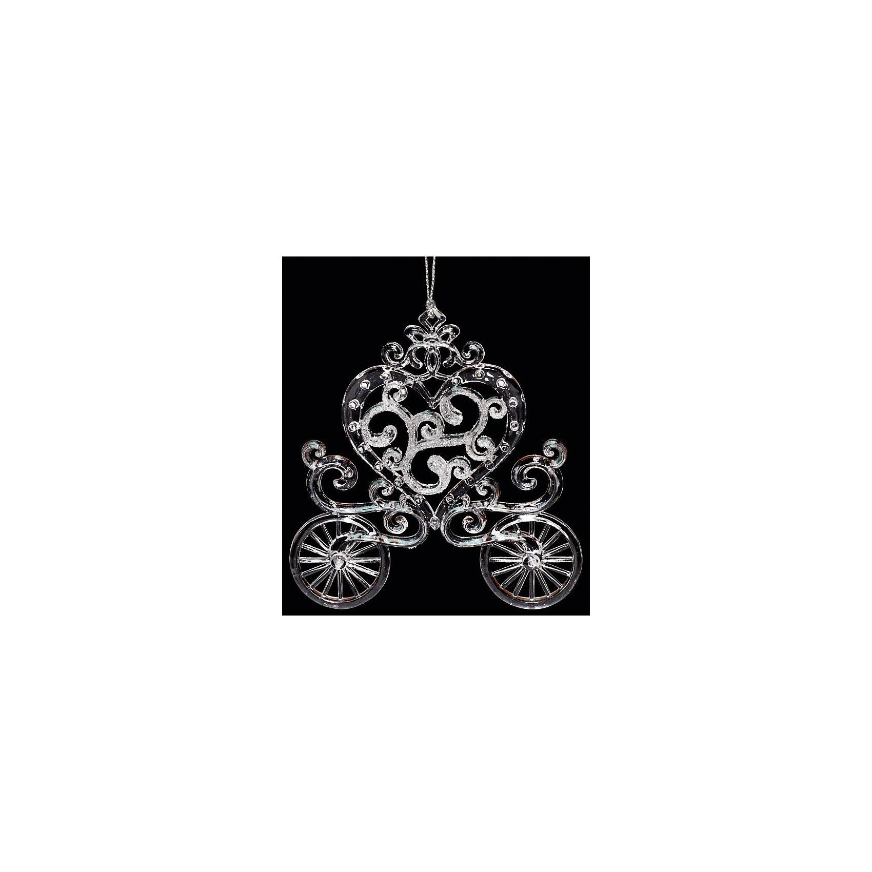 Украшение КаретаУкрашение Карета, Феникс-Презент, замечательно украсит Вашу новогоднюю елку или интерьер и создаст праздничное новогоднее настроение. Украшение выполнено в виде красивой кареты серебристого цвета с кабиной в форме сердечка, оно будет чудесно смотреться на елке и радовать детей и взрослых.<br><br>Дополнительная информация:<br><br>- Материал: пластик.<br>- Размер: 11,4 см.<br>- Размер упаковки: 4 x 13 x 20 см.<br>- Вес: 40 гр.<br><br>Украшение Карета, Феникс-Презент, можно купить в нашем интернет-магазине.<br><br>Ширина мм: 40<br>Глубина мм: 130<br>Высота мм: 200<br>Вес г: 40<br>Возраст от месяцев: 36<br>Возраст до месяцев: 2147483647<br>Пол: Унисекс<br>Возраст: Детский<br>SKU: 4276498