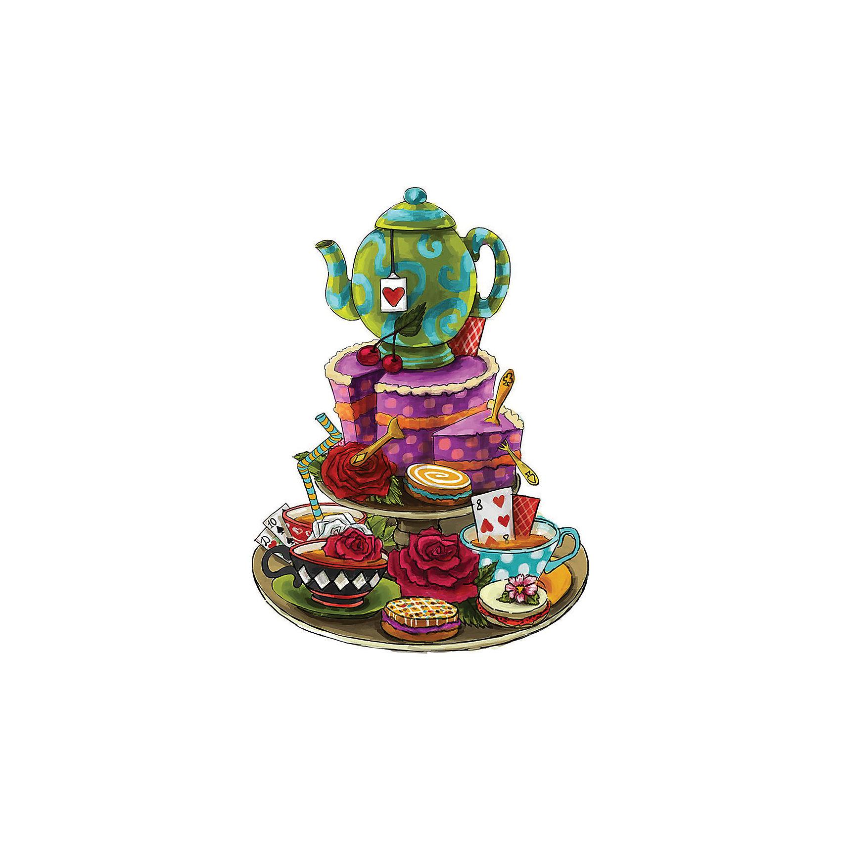 Феникс-Презент Новогоднее украшение Чаепитие у Шляпника новогоднее оконное украшение феникс презент обезьянки
