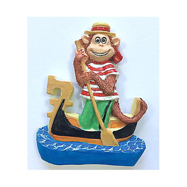 Декоративная обезьяна Венецианец в гандолеНовогодние сувениры<br>Декоративная обезьянка Венецианец в гондоле, Феникс-Презент, прекрасно дополнит Ваш новогодний интерьер и станет приятным сувениром для родных и друзей. Веселая обезьянка представлена в образе венецианца-гондольера, сзади у фигурки имеется магнитное крепление. <br>Обезьяна является символом Нового 2016 года, забавная фигурка принесет Вам радость и удачу и поднимет настроение.  <br><br>Дополнительная информация:<br><br>- Материал: полирезина. <br>- Размер фигурки: 5,4 х 6,8 х 1,5 см.<br><br>Декоративную обезьянку Венецианец в гондоле, Феникс-Презент, можно купить в нашем интернет-магазине.<br>Ширина мм: 60; Глубина мм: 80; Высота мм: 25; Вес г: 100; Возраст от месяцев: 36; Возраст до месяцев: 2147483647; Пол: Унисекс; Возраст: Детский; SKU: 4276530;