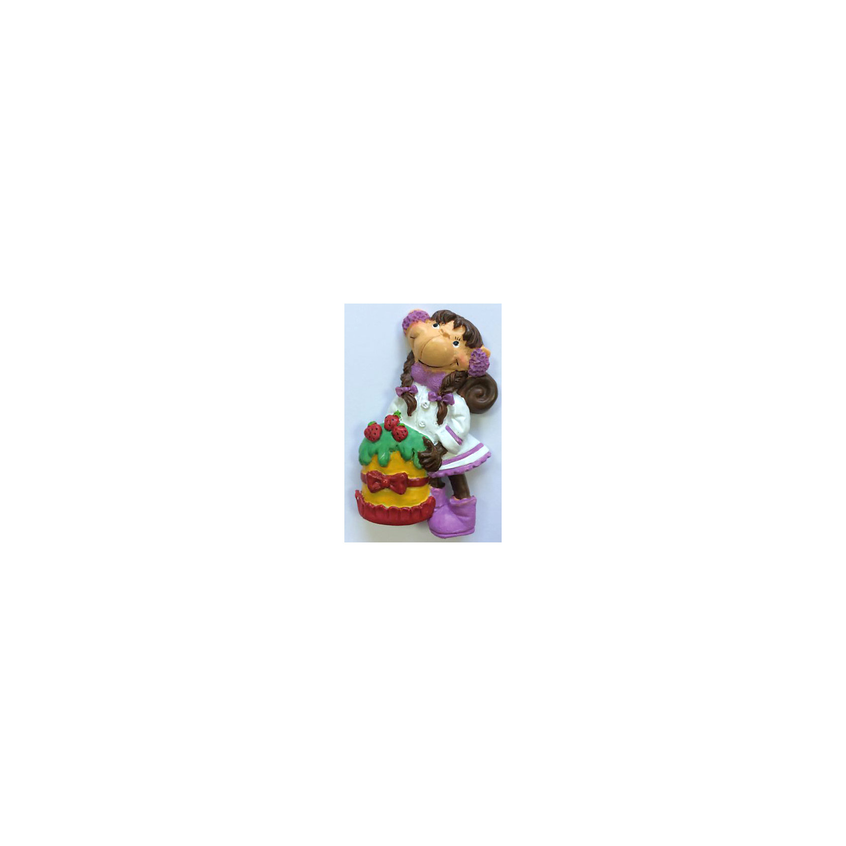 Декоративная обезьяна С тортомДекоративная обезьянка С тортом, Феникс-Презент, прекрасно дополнит Ваш новогодний интерьер и станет приятным сувениром для родных и друзей. Очаровательная обезьянка в нарядном белом платье держит в лапках праздничный торт, сзади у фигурки имеется магнитное крепление. Обезьяна является символом Нового 2016 года, забавная фигурка принесет Вам радость и удачу и поднимет настроение.  <br><br>Дополнительная информация:<br><br>- Материал: полирезина. <br>- Размер фигурки: 4 х 7 х 1,5 см.<br><br>Декоративную обезьянку С тортом, Феникс-Презент, можно купить в нашем интернет-магазине.<br><br>Ширина мм: 50<br>Глубина мм: 80<br>Высота мм: 25<br>Вес г: 100<br>Возраст от месяцев: 36<br>Возраст до месяцев: 2147483647<br>Пол: Унисекс<br>Возраст: Детский<br>SKU: 4276532