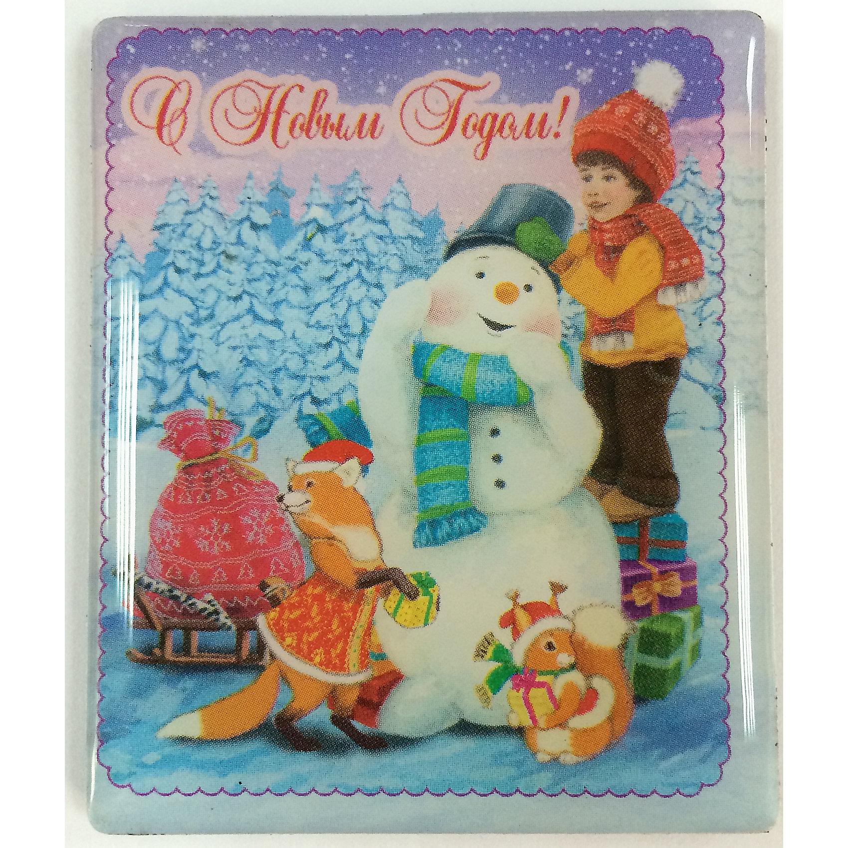 Магнит Мальчик и снеговикНовинки Новый Год<br>Магнит Мальчик и снеговик, Феникс-Презент, добавит праздничности в Ваш новогодний интерьер и поднимет настроение. Магнит прямоугольной формы украшен красочным изображением мальчика, лепящего снеговика вместе с милыми лесными зверюшками. <br><br>Дополнительная информация:<br><br>- Материал магнита: агломерированный феррит.<br>- Размер магнита: 6 х 5 см.<br><br>Магнит Мальчик и снеговик, Феникс-Презент, можно купить в нашем интернет-магазине.<br><br>Ширина мм: 100<br>Глубина мм: 100<br>Высота мм: 100<br>Вес г: 100<br>Возраст от месяцев: 36<br>Возраст до месяцев: 2147483647<br>Пол: Унисекс<br>Возраст: Детский<br>SKU: 4276542