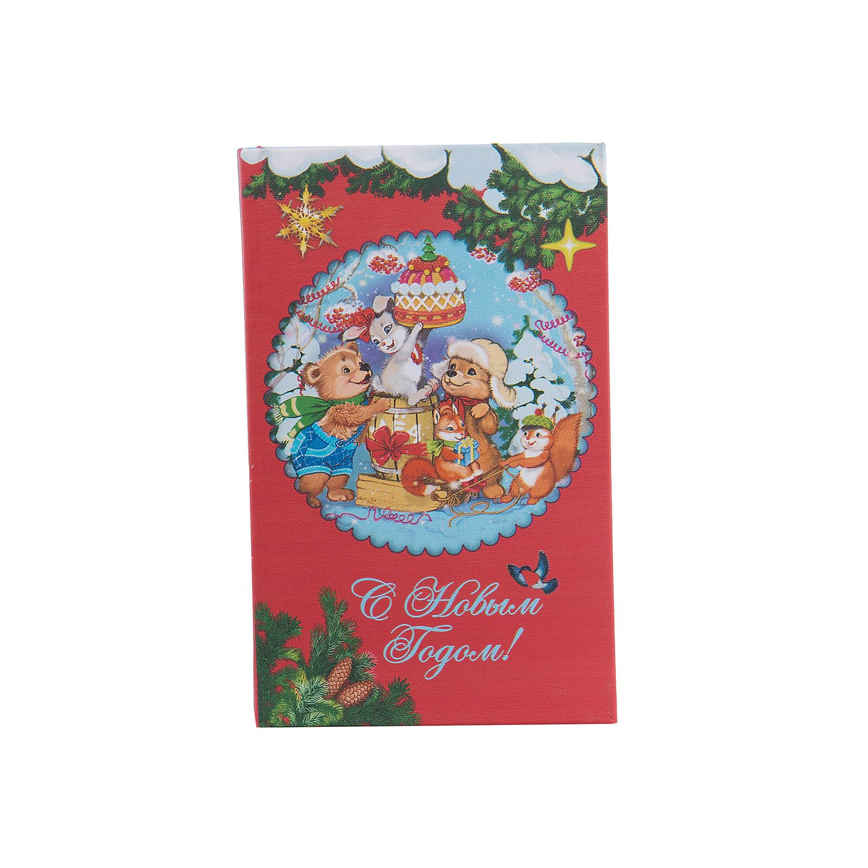 Шкатулка Лесные зверюшкиШкатулка Лесные зверюшки, Феникс-Презент, замечательно украсит Ваш новогодний интерьер и станет приятным сувениром для родных и друзей. Оригинальная шкатулка выполнена в форме книги и украшена красочным изображением очаровательных лесных зверюшек и новогодних украшений, закрывается на магнит. Симпатичный сувенир порадует и взрослых и детей и прекрасно подойдет для хранения мелочей и украшений.<br><br>Дополнительная информация:<br><br>- Материал: дерево (МДФ). <br>- Размер шкатулки: 17 х 11 х 5 см.<br>- Размер упаковки: 18 x 12 x 6 см.<br>- Вес: 0,307 кг. <br><br>Шкатулку Лесные зверюшки, Феникс-Презент, можно купить в нашем интернет-магазине.<br><br>Ширина мм: 60<br>Глубина мм: 120<br>Высота мм: 180<br>Вес г: 307<br>Возраст от месяцев: 36<br>Возраст до месяцев: 2147483647<br>Пол: Унисекс<br>Возраст: Детский<br>SKU: 4276551