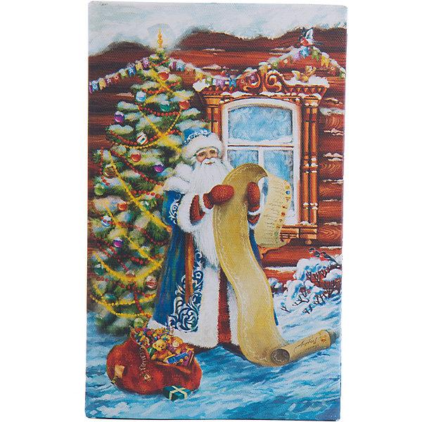 Шкатулка Дед Мороз со спискомНовогодние коробки<br>Шкатулка Дед Мороз со списком, Феникс-Презент, замечательно украсит Ваш новогодний интерьер и станет приятным сувениром для родных и друзей. Оригинальная шкатулка выполнена в форме книги и украшена красочным изображением Деда Мороза со списком подарков на фоне новогодней елки, закрывается на магнит. Симпатичный сувенир порадует и взрослых и детей и прекрасно подойдет для хранения мелочей и украшений.<br><br>Дополнительная информация:<br><br>- Материал: дерево (МДФ). <br>- Размер шкатулки: 17 х 11 х 5 см.<br>- Размер упаковки: 18 x 12 x 6 см.<br>- Вес: 0,307 кг. <br><br>Шкатулку Дед Мороз со списком, Феникс-Презент, можно купить в нашем интернет-магазине.<br><br>Ширина мм: 60<br>Глубина мм: 120<br>Высота мм: 180<br>Вес г: 307<br>Возраст от месяцев: 36<br>Возраст до месяцев: 2147483647<br>Пол: Унисекс<br>Возраст: Детский<br>SKU: 4276552