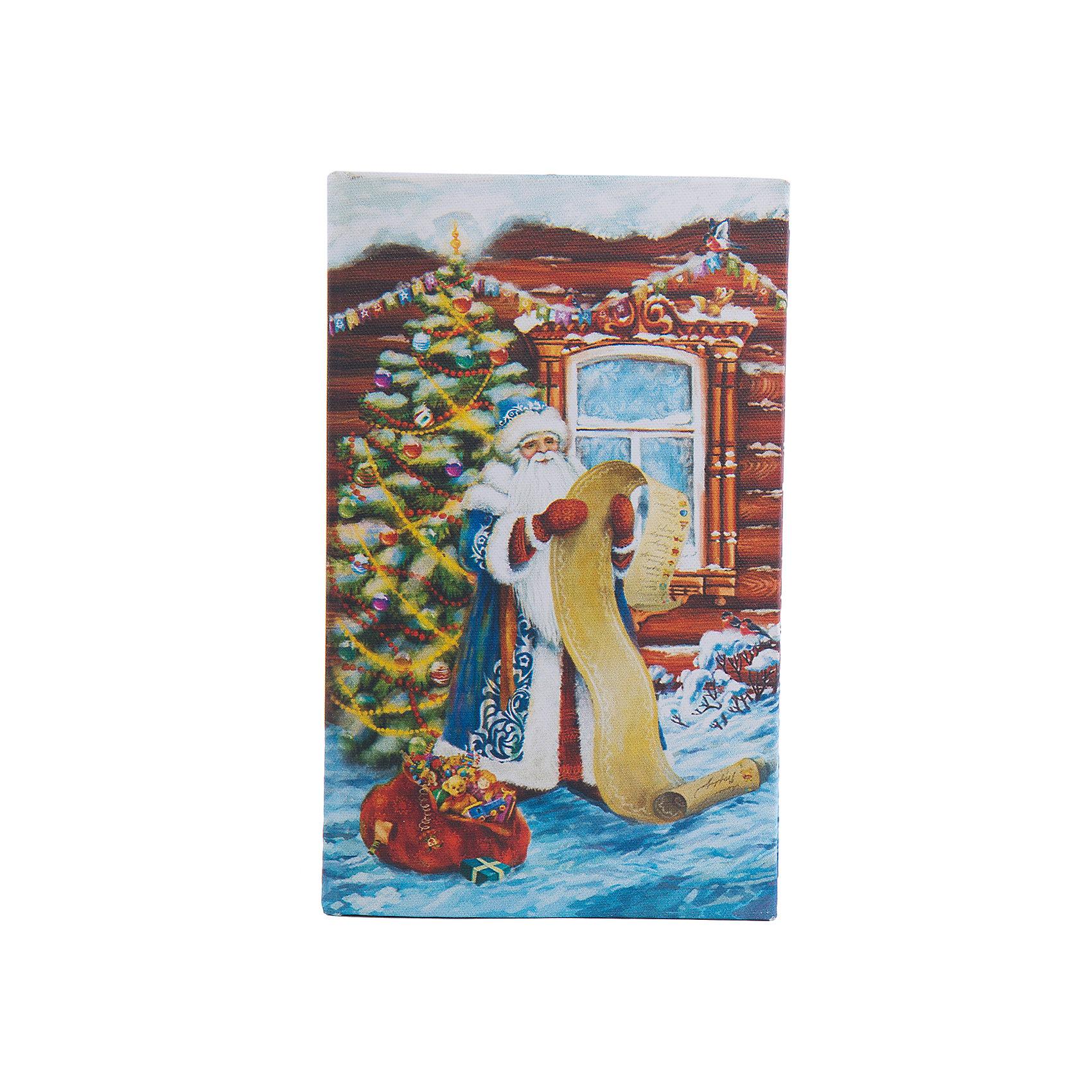 Шкатулка Дед Мороз со спискомШкатулка Дед Мороз со списком, Феникс-Презент, замечательно украсит Ваш новогодний интерьер и станет приятным сувениром для родных и друзей. Оригинальная шкатулка выполнена в форме книги и украшена красочным изображением Деда Мороза со списком подарков на фоне новогодней елки, закрывается на магнит. Симпатичный сувенир порадует и взрослых и детей и прекрасно подойдет для хранения мелочей и украшений.<br><br>Дополнительная информация:<br><br>- Материал: дерево (МДФ). <br>- Размер шкатулки: 17 х 11 х 5 см.<br>- Размер упаковки: 18 x 12 x 6 см.<br>- Вес: 0,307 кг. <br><br>Шкатулку Дед Мороз со списком, Феникс-Презент, можно купить в нашем интернет-магазине.<br><br>Ширина мм: 60<br>Глубина мм: 120<br>Высота мм: 180<br>Вес г: 307<br>Возраст от месяцев: 36<br>Возраст до месяцев: 2147483647<br>Пол: Унисекс<br>Возраст: Детский<br>SKU: 4276552