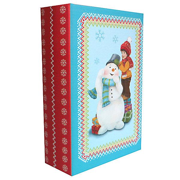 Шкатулка Снеговик и мальчикНовогодние коробки<br>Шкатулка Снеговик и мальчик, Феникс-Презент, замечательно украсит Ваш новогодний интерьер и станет приятным сувениром для родных и друзей. Оригинальная шкатулка выполнена в форме книги и украшена красочным изображением очаровательного мальчика с забавным снеговиком, закрывается на магнит. Симпатичный сувенир порадует и взрослых и детей и прекрасно подойдет для хранения мелочей и украшений.<br><br>Дополнительная информация:<br><br>- Материал: дерево (МДФ). <br>- Размер шкатулки: 17 х 11 х 5 см.<br>- Размер упаковки: 18 x 12 x 6 см.<br>- Вес: 0,307 кг. <br><br>Шкатулку Снеговик и мальчик, Феникс-Презент, можно купить в нашем интернет-магазине.<br><br>Ширина мм: 60<br>Глубина мм: 120<br>Высота мм: 180<br>Вес г: 307<br>Возраст от месяцев: 36<br>Возраст до месяцев: 2147483647<br>Пол: Унисекс<br>Возраст: Детский<br>SKU: 4276553