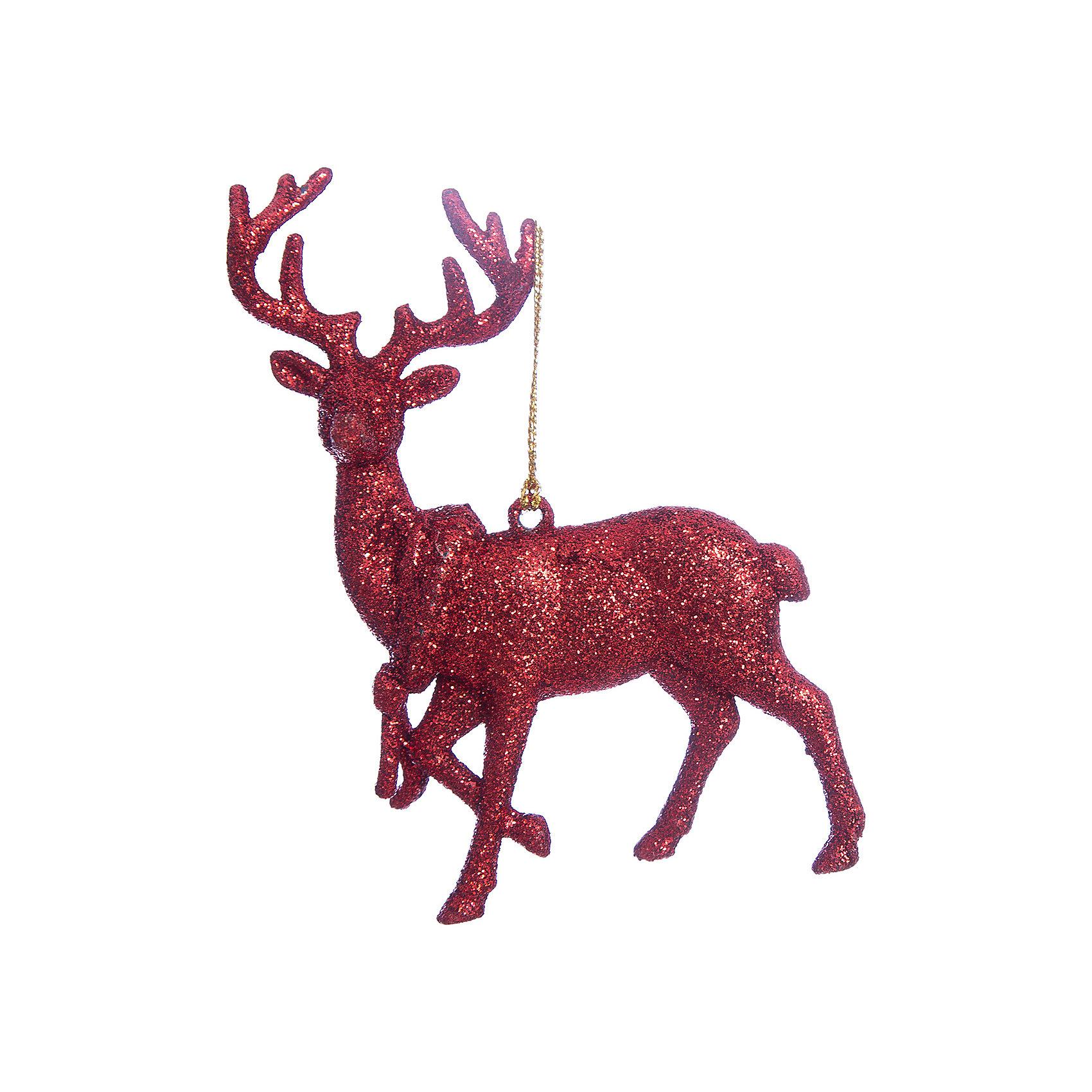 Украшение Красный оленьУкрашение Красный олень, Феникс-Презент, замечательно дополнит наряд Вашей новогодней елки и поможет создать праздничную волшебную атмосферу. Украшение выполнено в виде фигурки оленя с красивыми ветвистыми рогами и декорировано блестками, оно будет чудесно смотреться на елке и радовать детей и взрослых. <br><br>Дополнительная информация:<br><br>- Материал: пластик.<br>- Размер украшения: 11,5 х 11,5 см.<br>- Вес: 46 гр.<br><br>Украшение Красный олень, Феникс-Презент, можно купить в нашем интернет-магазине.<br><br>Ширина мм: 1<br>Глубина мм: 120<br>Высота мм: 120<br>Вес г: 46<br>Возраст от месяцев: 36<br>Возраст до месяцев: 2147483647<br>Пол: Унисекс<br>Возраст: Детский<br>SKU: 4276563