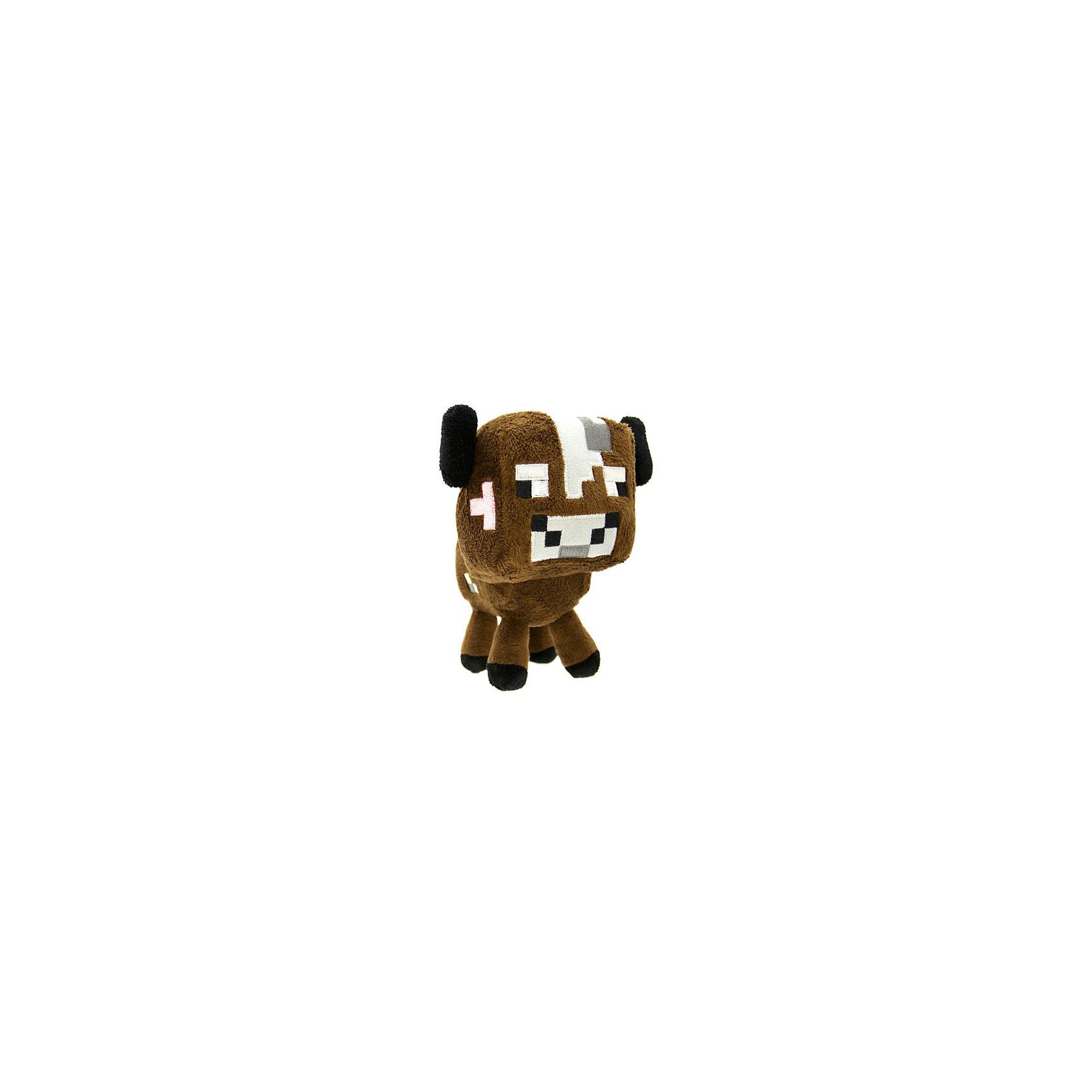 Мягкая игрушка Детеныш грибной коровы, Minecraft, в ассортиментеЛюбимые герои<br>Плюшевая игрушка Детеныш грибной коровы создана по мотивам популярной онлайн-игры Minecraft. Действия осуществляются от первого лица, а весь игровой мир, предметы, мобы (персонажи) и сам игрок состоят полностью из блоков.<br><br>Грибная корова обитает исключительно в биоме грибного острова. В отличие от обычных коров, грибная корова красного цвета и с черными глазами, а на спине у нее - красные грибы.<br><br>Высота - 18 см.<br>Внимание! Данный товар представлен в ассортименте (отличается цветовым исполнением: красный либо коричневый). Предварительный выбор определенного цвета товара, к сожалению, невозможен. При  заказе нескольких единиц данного товара возможно получение одинаковых.<br><br>Настоящее американское качество.<br><br>Ширина мм: 171<br>Глубина мм: 124<br>Высота мм: 104<br>Вес г: 114<br>Возраст от месяцев: 36<br>Возраст до месяцев: 1188<br>Пол: Унисекс<br>Возраст: Детский<br>SKU: 4278007