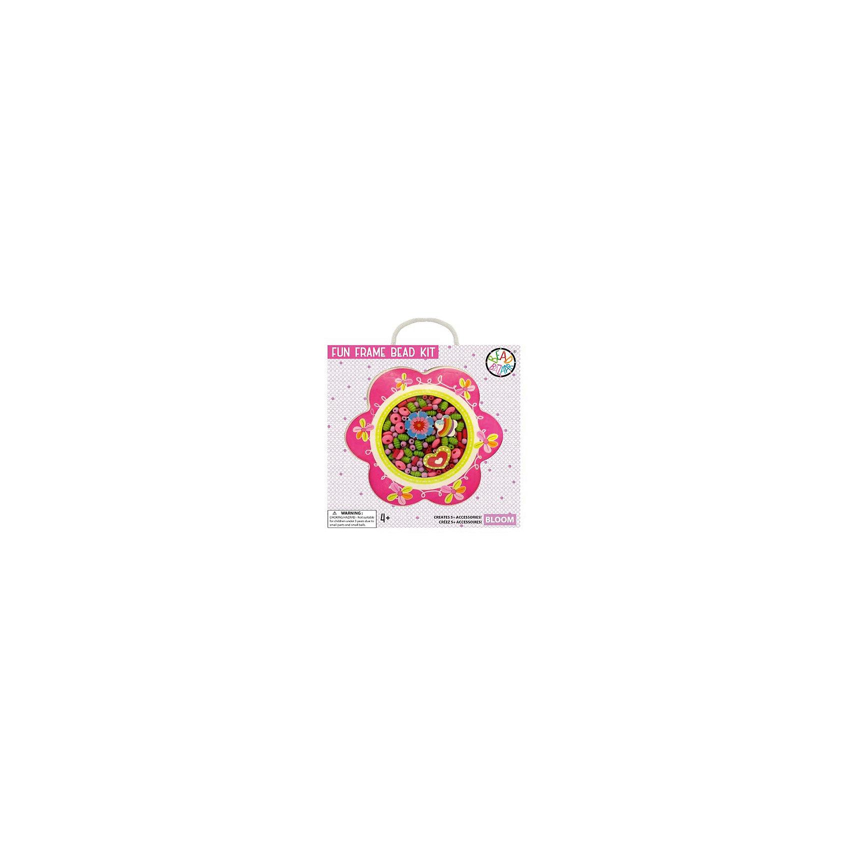 Набор бусин в рамке ЦветокНабор бусин в рамке Цветок – чудесный подарок для творческой девочки! С помощью этого набора она сможет создать для себя и подруг разнообразные украшения: бусы, браслеты и многое другое. Это изумительная возможность продемонстрировать свои творческие способности в полной мере! А оригинальную упаковку с вырезанным контуром красивого цветка можно использовать в качестве рамки для своего фото.<br><br>Комплектация: деревянные бусины, хлопковые веревочки, 3 подвески, инструкция по сборке<br><br>Дополнительная информация:<br>-Развивает: воображение, творческие способности, усидчивость, мелкую моторику, координацию движений, комбинаторные способности, аккуратность<br>-Вес в упаковке: 100 г<br>-Размеры в упаковке: 24х25х3 см<br>-Материалы: дерево, текстиль<br><br>Набор бусин в рамке Цветок, оформленный в оригинальную упаковку, несказанно понравится маленькой рукодельнице!<br><br>Набор бусин в рамке Цветок можно купить в нашем магазине.<br><br>Ширина мм: 240<br>Глубина мм: 250<br>Высота мм: 30<br>Вес г: 100<br>Возраст от месяцев: 48<br>Возраст до месяцев: 108<br>Пол: Женский<br>Возраст: Детский<br>SKU: 4278048