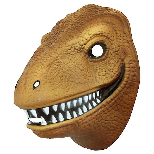 Маска Динозавр, Парк Юрского ПериодаДетские карнавальные маски<br>Маска Динозавр, Парк Юрского Периода – эта карнавальная маска внесет нотку задора и веселья в праздник.<br>Маска в виде свирепого динозавра станет шикарным дополнением костюма малыша на детском костюмированном празднике. Ее можно использовать даже в качестве единственного карнавального элемента в одежде ребенка: надев ее, он легко перевоплощается в любимого персонажа.<br><br>Дополнительная информация:<br><br>- Материал: поливинилхлорид<br>- Товар сертифицирован<br>- Размер: 160 х 200 х 2 мм.<br>- Вес: 80 гр.<br><br>Маску Динозавр, Парк Юрского Периода можно купить в нашем интернет-магазине.<br><br>Ширина мм: 200<br>Глубина мм: 200<br>Высота мм: 100<br>Вес г: 80<br>Возраст от месяцев: 36<br>Возраст до месяцев: 96<br>Пол: Мужской<br>Возраст: Детский<br>SKU: 4278304