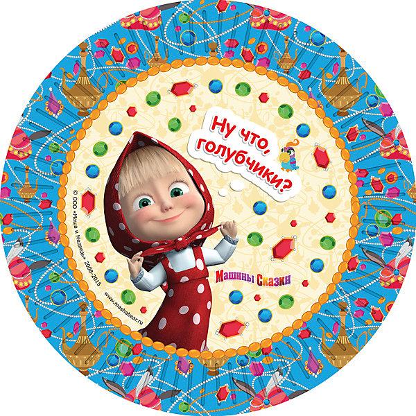 Набор тарелок Машины сказки (23 см, 6 шт)Тарелки<br>Набор тарелок Машины сказки (23 см, 6 шт) – этот набор замечательно подойдет для детского праздника и поможет красиво сервировать стол.<br>Одноразовые тарелки «Машины сказки» с ярким, жизнерадостным дизайном стильно украсят праздничный стол и поднимут всем настроение. А на пикнике они просто необходимы! Их практическую пользу невозможно переоценить: они почти невесомы, не могут разбиться, их не надо мыть. Сделанные из плотной бумаги, они абсолютно безопасны и, благодаря глянцевому ламинированию, прекрасно удерживают еду. Из данной серии вы также можете выбрать скатерть, салфетки, стаканы, язычки, колпаки, дудочки, подарочный набор посуды, приглашение в конверте, гирлянду, свечи и другие товары.<br><br>Дополнительная информация:<br><br>- В наборе: 6 бумажных тарелок диаметром 23 см.<br>- Материал: плотная бумага<br>- Размер упаковки: 230 х 230 x 20 мм.<br>- Вес: 80 гр.<br><br>Набор тарелок Машины сказки (23 см, 6 шт) можно купить в нашем интернет-магазине.<br>Ширина мм: 230; Глубина мм: 230; Высота мм: 10; Вес г: 80; Возраст от месяцев: 36; Возраст до месяцев: 84; Пол: Женский; Возраст: Детский; SKU: 4278316;