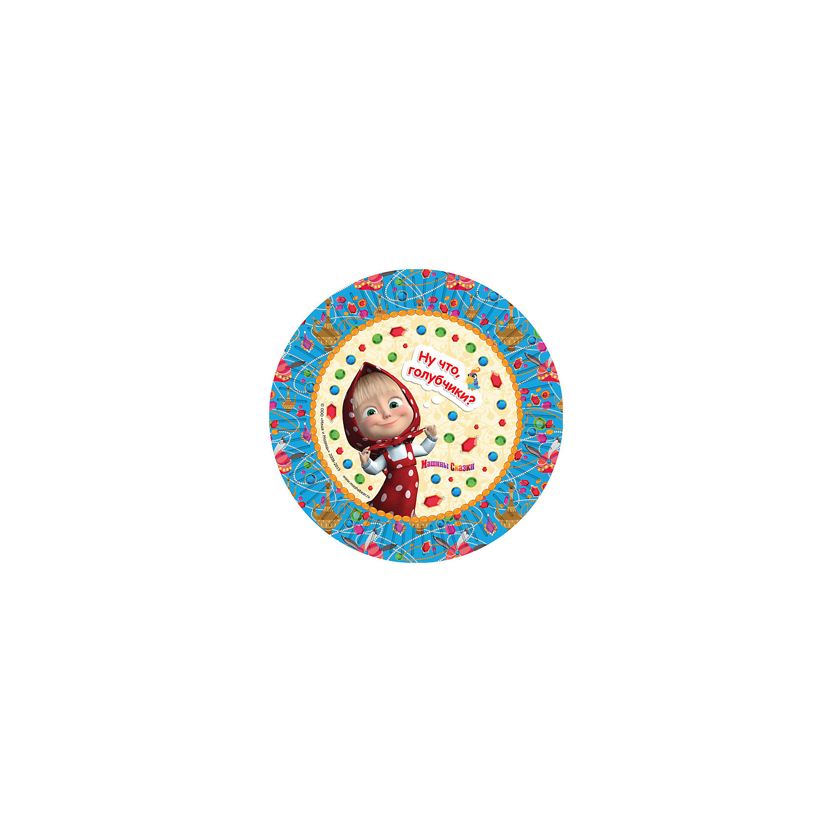 Росмэн Набор тарелок Машины сказки (23 см, 6 шт) маша и медведь колпак машины сказки 6 шт