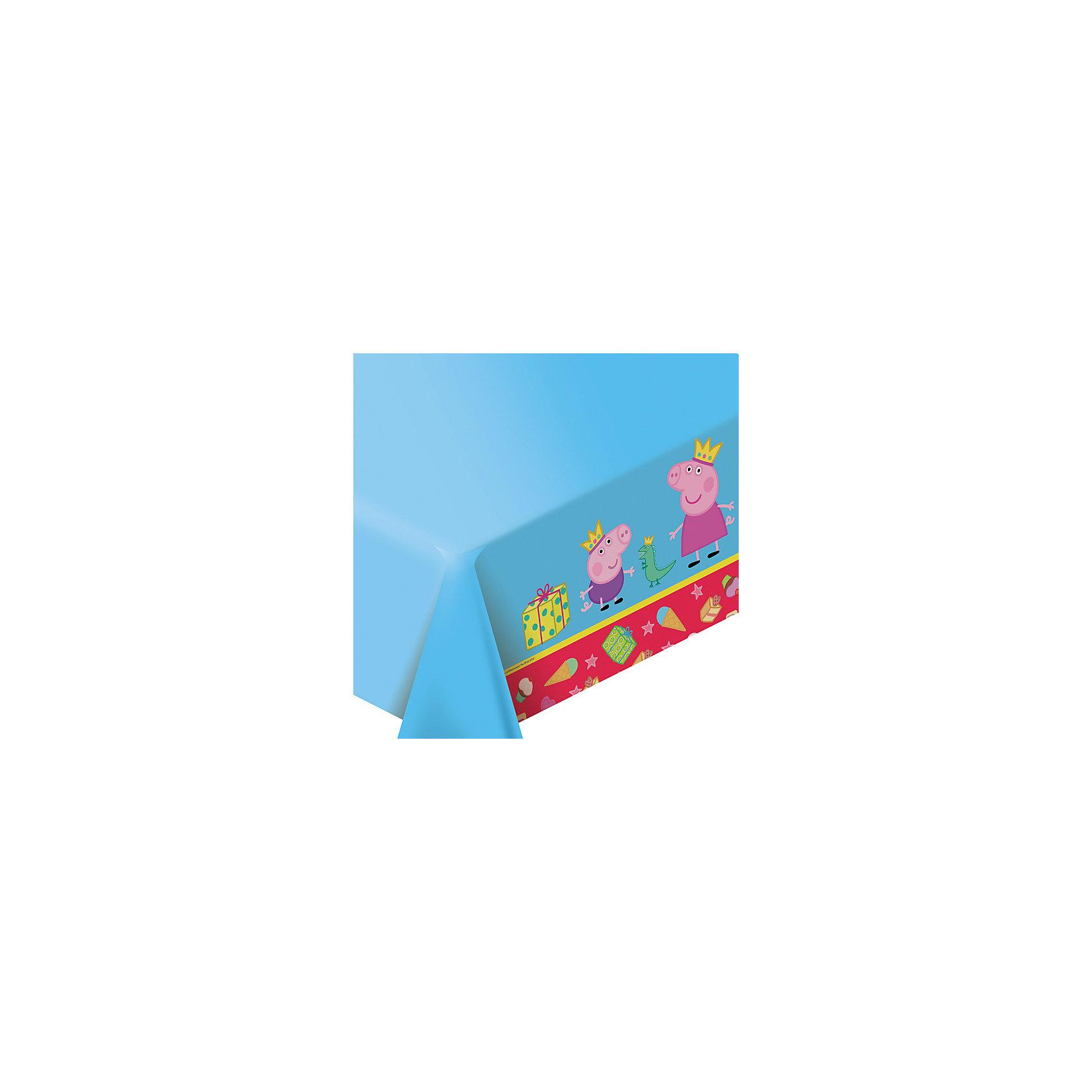 Росмэн Скатерть Пеппа-принцесса 133*183 см товары для праздника olala подарочный набор посуды пеппа принцесса