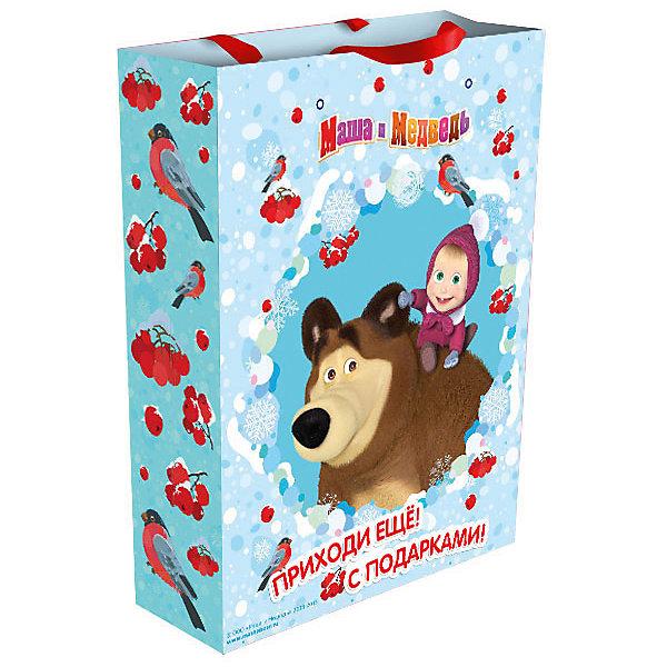 Подарочный пакет Маша зимой 35*25*9 смМаша и Медведь<br>Подарочный пакет Маша зимой 35*25*9 см – этот аксессуар станет незаменимым дополнением к выбранному подарку.<br>Яркий подарочный пакет «Маша зимой» с очаровательными героями мультфильма «Маша и Медведь» празднично украсит новогодний подарок для маленькой девочки и сделает его эффектным и запоминающимся. Для удобной переноски на пакете имеются две ручки из ленты.<br><br>Дополнительная информация:<br><br>- Размер: 35х25х9 см.<br>- Материал: бумага<br><br>Подарочный пакет Маша зимой 35*25*9 см можно купить в нашем интернет-магазине.<br>Ширина мм: 350; Глубина мм: 250; Высота мм: 5; Вес г: 78; Возраст от месяцев: 36; Возраст до месяцев: 84; Пол: Женский; Возраст: Детский; SKU: 4278380;