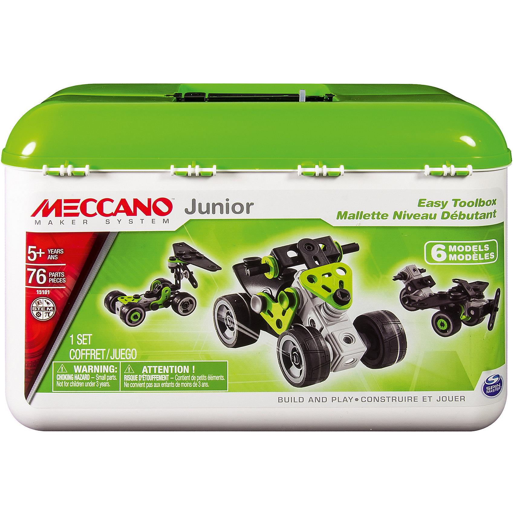 Meccano Квадроцикл (4 модели), Meccano игрушка meccano боевой вертолёт 2 модели meccano