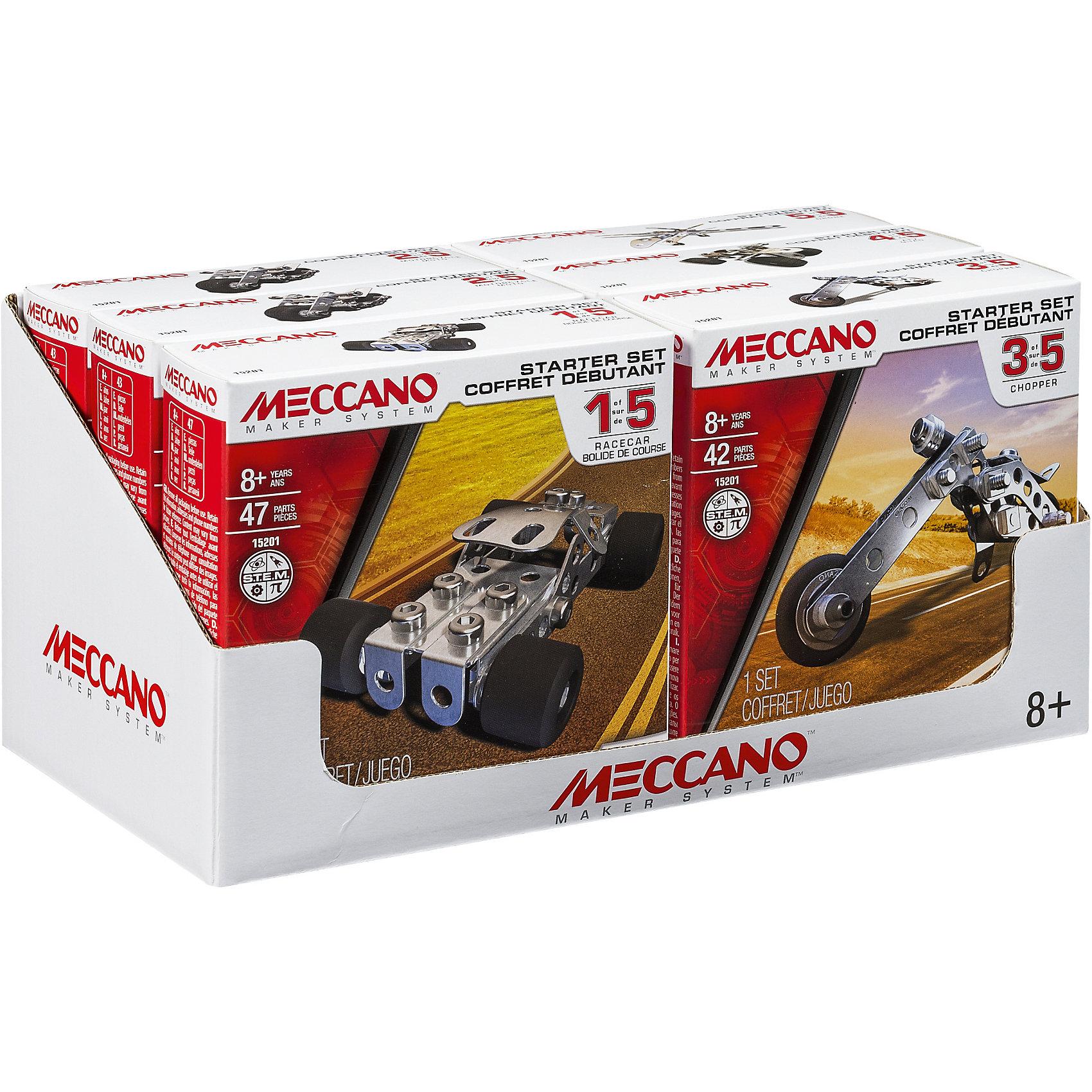 Meccano Базовая модель, Meccano, в ассортименте игрушка meccano боевой вертолёт 2 модели meccano
