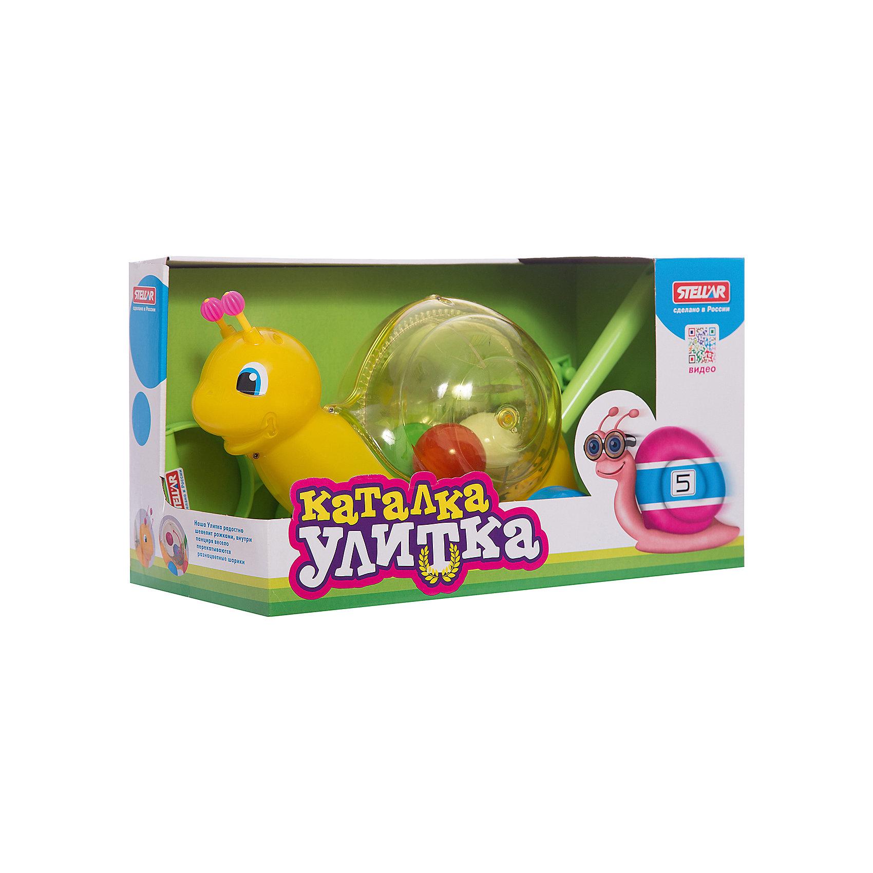 Стеллар Каталка Улитка, Стеллар музыкальные игрушки стеллар дудочка