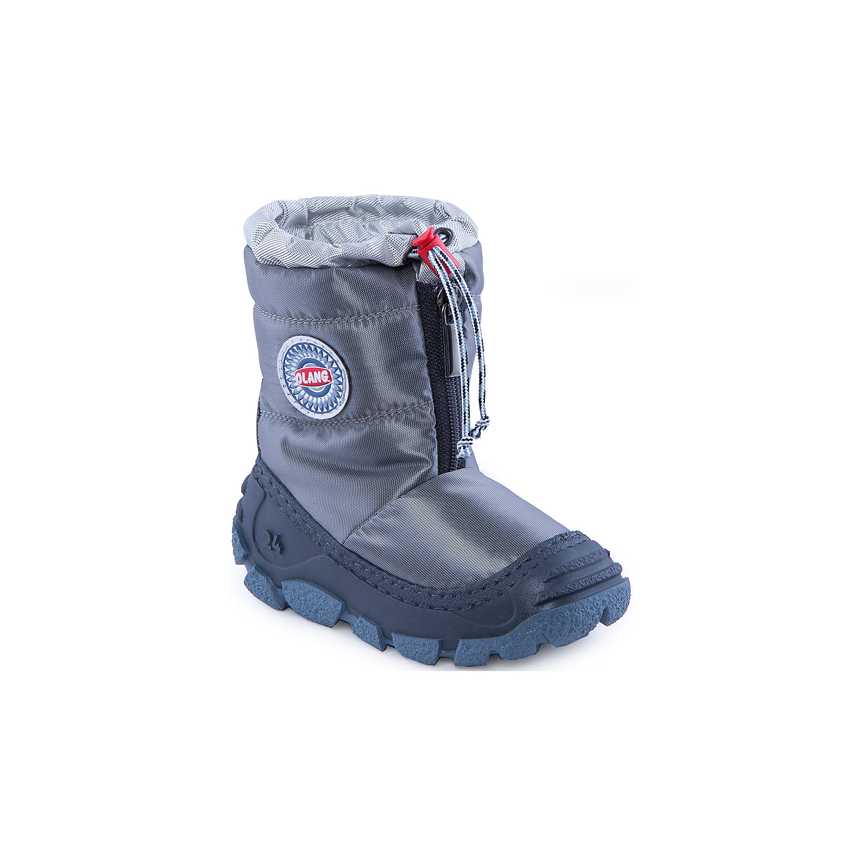 Сапоги для мальчика OlangНачните холодный сезон вместе с Olang! Сапоги цвета металлик будут радовать ребенка и защищать его ноги от влаги и холода. А специальная застежка-фиксатор в верхней части обуви предотвращает попадание снега и воды внутрь.<br>Состав: <br>Материал верха:текстиль<br>Материал подклада: искусственный мех<br><br>Ширина мм: 257<br>Глубина мм: 180<br>Высота мм: 130<br>Вес г: 420<br>Цвет: серый<br>Возраст от месяцев: 18<br>Возраст до месяцев: 21<br>Пол: Мужской<br>Возраст: Детский<br>Размер: 23/24,27/28,29/30,25/26<br>SKU: 4279299