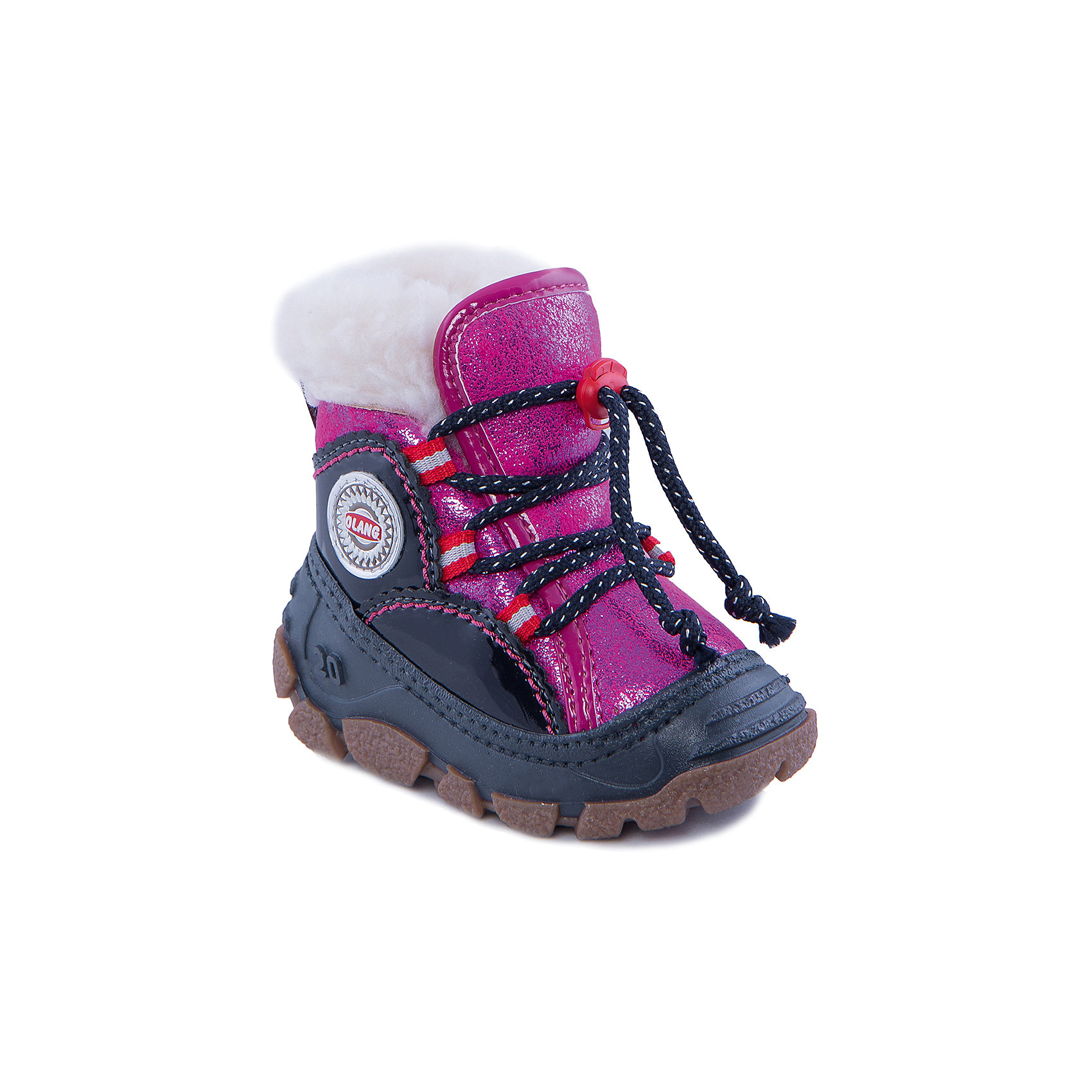 Сапоги для девочки OlangУдобные зимние сапожки для самых маленьких. Благодаря широкому раскрытию ботинка его легко надевать, даже если ребенок еще не умеет вытягивать ножку. Усовершенствованная система шнуровки крепко фиксирует обувь точно по ноге. Подкладка из мягкого меха надежно сохраняет тепло. Итальянский стиль и европейское качество.Состав: <br>Материал верха:70% эко-замша, 20% эко-мех, 10% полиуретан<br>Материал подклада: искусственный мех<br><br>Ширина мм: 257<br>Глубина мм: 180<br>Высота мм: 130<br>Вес г: 420<br>Цвет: розовый<br>Возраст от месяцев: 18<br>Возраст до месяцев: 21<br>Пол: Женский<br>Возраст: Детский<br>Размер: 23/24,27/28,25/26,19/20,21/22<br>SKU: 4279342