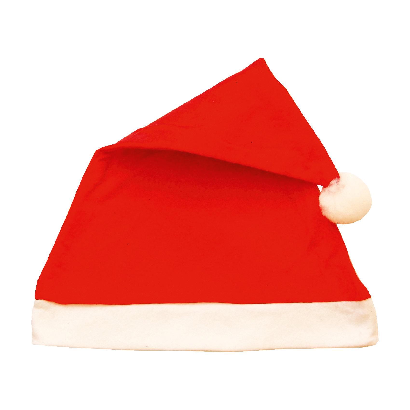 Новогодний колпак СантаМаски и карнавальные костюмы<br>Новогодний колпак Санта – это возможность превратить праздник в необычное, яркое шоу.<br>Новогодний колпак Санта развеселит вас и ваших друзей в праздничную ночь. Пусть он не сделает вас волшебным дедом Морозом, но зато с ним даже обычная одежда превратится в новогодний наряд! Радуйте себя и родных, дарите подарки и хорошее настроение!<br><br>Дополнительная информация:<br><br>- Размер: 28 х 38 см.<br>- Материал: синтетический фетр<br><br>Новогодний колпак Санта можно купить в нашем интернет-магазине.<br><br>Ширина мм: 280<br>Глубина мм: 380<br>Высота мм: 20<br>Вес г: 21<br>Возраст от месяцев: 72<br>Возраст до месяцев: 96<br>Пол: Унисекс<br>Возраст: Детский<br>SKU: 4280630