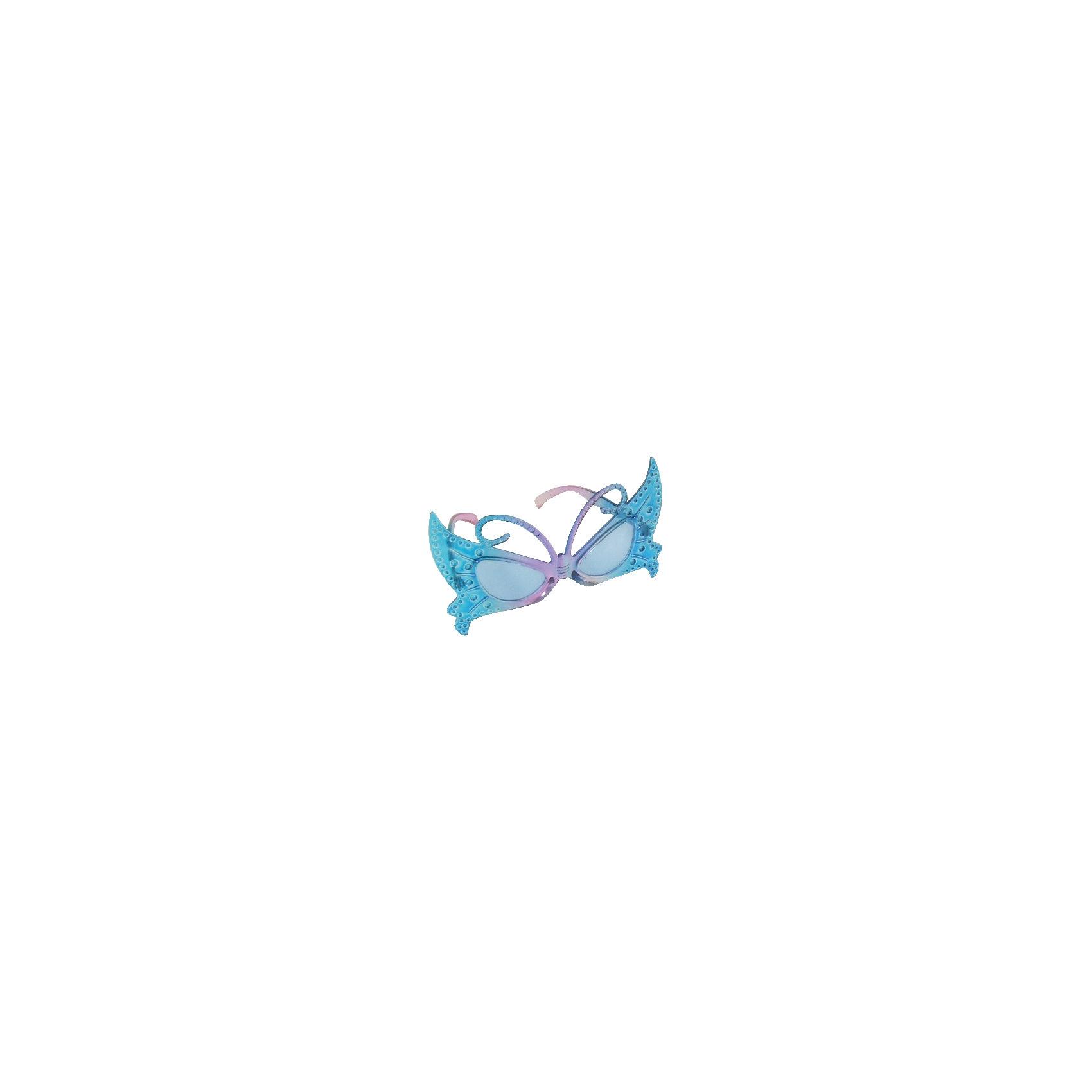 """Карнавальные очки """"Голубая бабочка"""" от myToys"""