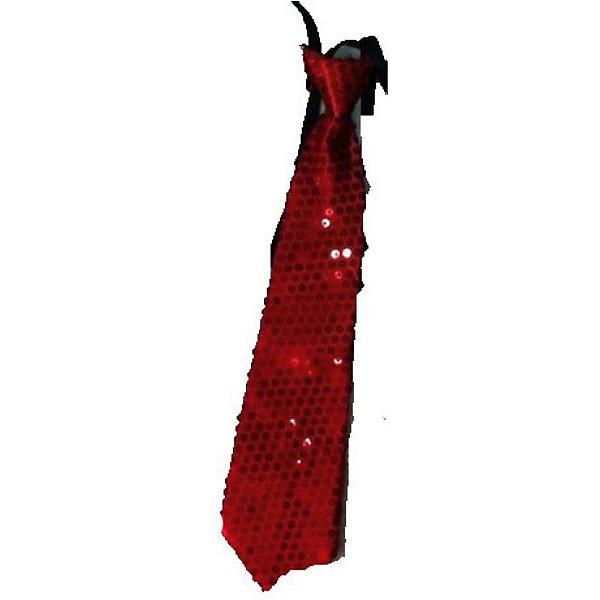 Маскарадный галстук, красныйКарнавальные аксессуары для детей<br>Маскарадный галстук, красный – это возможность превратить праздник в необычное, яркое шоу.<br>Красный блестящий галстук великолепно дополнит образ вашего персонажа, подчеркнет его характер и сформирует облик в целом. Если у вас намечается веселая вечеринка или маскарад, то такой аксессуар легко поможет создать праздничный наряд. Внесите нотку задора и веселья в праздник. Веселое настроение и масса положительных эмоций будут обеспечены!<br><br>Дополнительная информация:<br><br>- Размер: 35 см.<br>- Материал: полиэстер<br>- Цвет: красный<br><br>Маскарадный галстук, красный можно купить в нашем интернет-магазине.<br>Ширина мм: 350; Глубина мм: 80; Высота мм: 20; Вес г: 23; Возраст от месяцев: 48; Возраст до месяцев: 1188; Пол: Мужской; Возраст: Детский; SKU: 4280637;