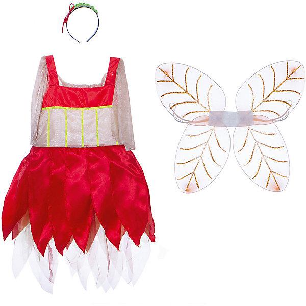 Маскарадный костюм для девочки Лесная фея, 6-8  летКарнавальные костюмы для девочек<br>Маскарадный костюм для девочки Лесная фея, 6-8  лет – это возможность превратить праздник в необычное, яркое шоу.<br>Яркий карнавальный костюм «Лесная фея» позволит вашей малышке быть самой красивой девочкой на детском утреннике, маскараде или карнавале. Он сшит по мотивам любимых детских мультфильмов о лесных феях и точно повторяет наряд, в который одеты героини. В комплект входят платье, крылышки и ободок. Юбка платья выполнена в виде лепестков цветов. Дополнят образ лесной феи крылышки и красивый ободок с зеленой веточкой. Если ваша дочурка любит волшебство и мечтает хоть на минутку превратиться в очаровательную фею, этот маскарадный костюм поможет вам сделать ребенку поистине сказочный подарок! Веселое настроение и масса положительных эмоций будут обеспечены!<br><br>Дополнительная информация:<br><br>- Комплектация: платье, крылья, ободок<br>- Возраста: от 6 до 8 лет<br>- Рост: 125 см.<br>- Обхват груди: 65 см.<br>- Обхват талии: 57 см.<br>- Материал: полиэстер, синтетический атлас<br><br>Маскарадный костюм для девочки Лесная фея, 6-8 лет можно купить в нашем интернет-магазине.<br>Ширина мм: 400; Глубина мм: 500; Высота мм: 50; Вес г: 650; Возраст от месяцев: 72; Возраст до месяцев: 96; Пол: Женский; Возраст: Детский; SKU: 4280645;