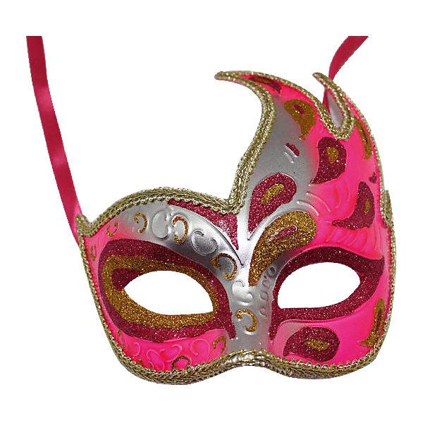 Карнавальная маска Жар-птица, розоваяДетские карнавальные маски<br>Карнавальная маска Жар-птица, розовая – это возможность превратить праздник в необычное, яркое шоу.<br>Карнавальная маска Жар-птица изготовленная из пластика и украшенная глиттером, внесет нотку задора и веселья в праздник. Эта маска скроет глаза и верхнюю часть лица, что придаст вашей девочке сказочный и мистический вид. Маска станет завершающим штрихом в создании праздничного образа. Изделие крепится на голове при помощи атласной ленты. В этой роскошной маске девочка будет неотразима!<br><br>Дополнительная информация:<br><br>- Размер: 15,6 х 10,3 х 7,5 см.<br>- Цвет: розовый, серебристый, золотистый<br>- Материал: пластик<br><br>Карнавальную маску Жар-птица, розовую можно купить в нашем интернет-магазине.<br><br>Ширина мм: 156<br>Глубина мм: 103<br>Высота мм: 75<br>Вес г: 58<br>Возраст от месяцев: 36<br>Возраст до месяцев: 1188<br>Пол: Женский<br>Возраст: Детский<br>SKU: 4280651