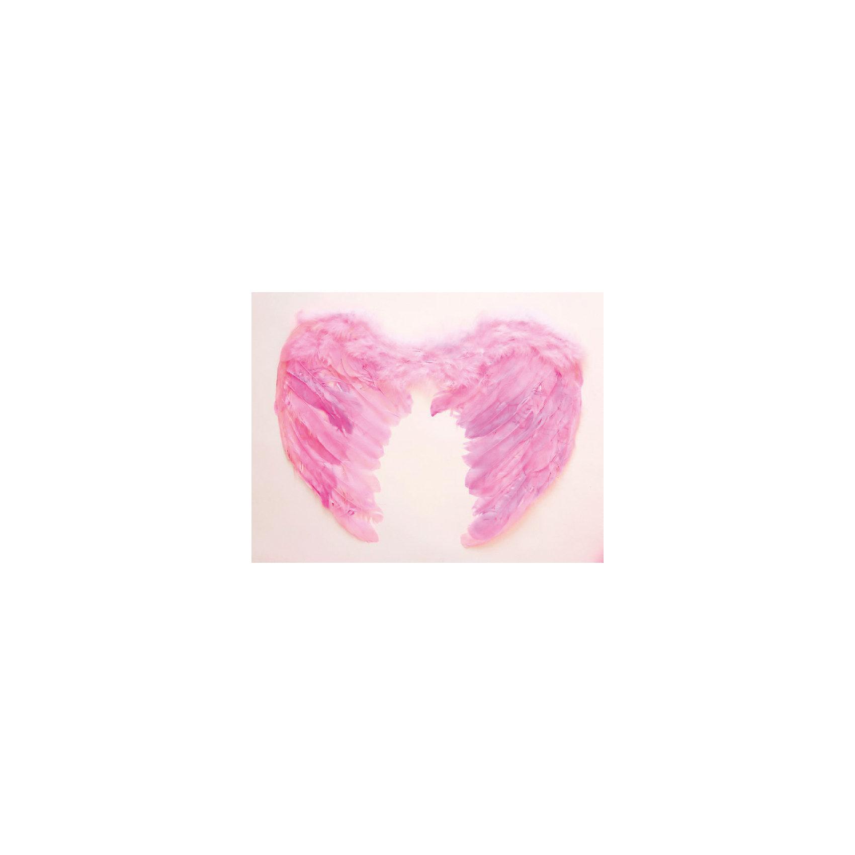 Magic Time Маскарадные крылья, розовые