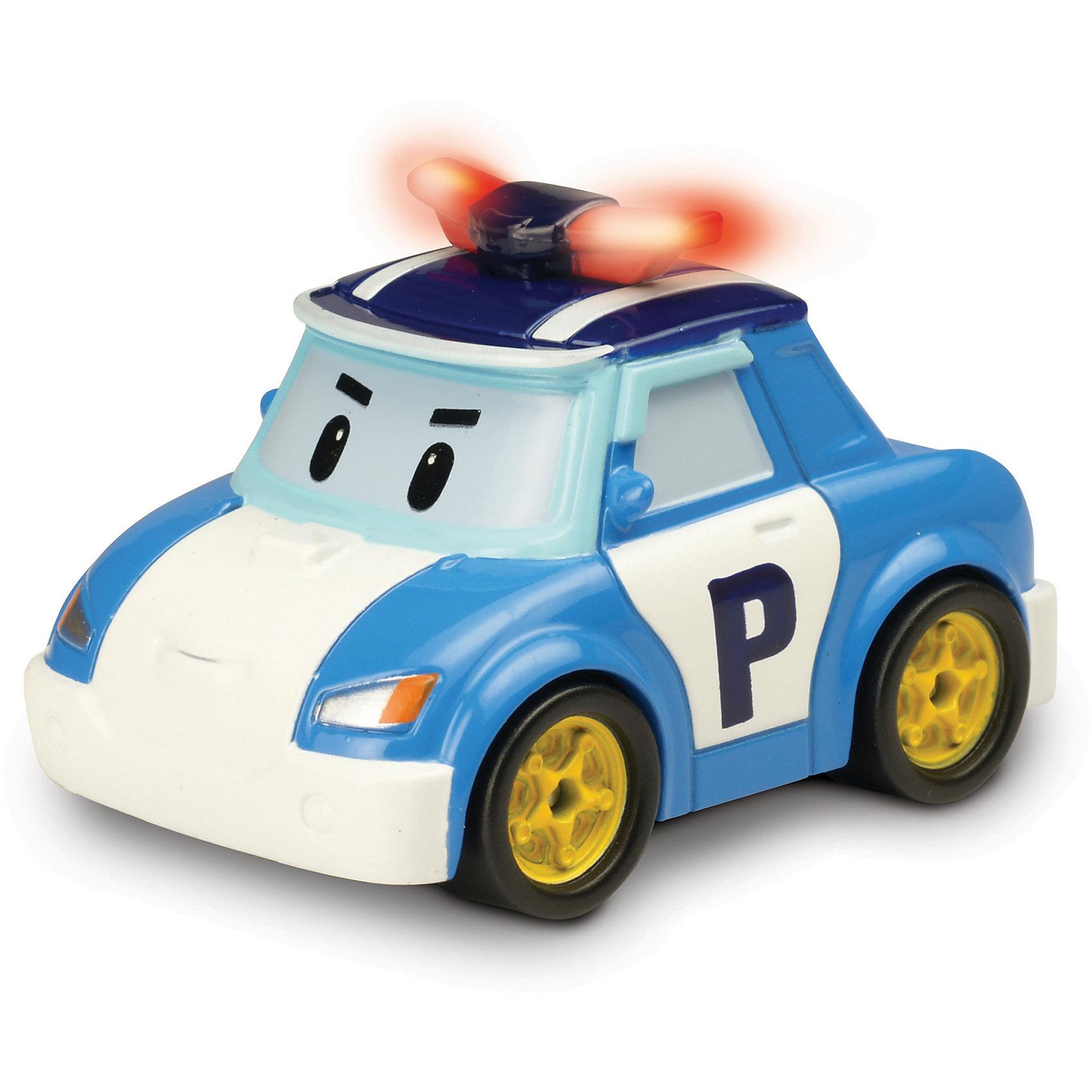 Умная машинка Поли, 6 см, Робокар ПолиМашинки и транспорт для малышей<br>Умная машинка Поли, 6 см, Робокар Поли – это автомобиль из мультсериала «Робокар Поли», который является членом команды спасателей. Это отважная полицейская машина-робот, которая борется с несправедливостью и обеспечивает порядок в удивительном городке Брумс. Главная особенность игрушек из серии «Умные машинки»  в том, что они оснащены внутренним аккумулятором и могут самостоятельно ездить по трекам всех игровых наборов серии «Робокар Поли», а в случае препятствия машинки самостоятельно останавливаются в 5 см от него! <br><br>Характеристики:<br>-Развивает: воображение, память, логическое мышление, мелкую моторику, речь, фантазию<br>-Игрушка выполнена из высококачественного пластика, с аккуратно обработанными краями, использованные красители не токсичны и гипоаллергенны<br>-Можно собрать всю коллекцию машин-спасателей (скорая помощь, пожарная машина, вертолет и полицейский) и разнообразить игры<br>-2 варианта движения машинки: инерционный или на основе встроенного аккумулятора (необходима станция подзарядки)<br><br>Дополнительная информация:<br>-Материалы: пластик<br>-Размеры в упаковке: 12х7х13 см<br>-Вес в упаковке: 94 г<br>-Размер машинки: 6 см<br>-Внимание! Станция подзарядки Energy station (Энерджи Стэйшн) покупается отдельно в составе игровых наборов-треков Умные машинки<br><br>Ребенок с интересом будет патрулировать улицы городка Брумстаун вместе Робокаром Поли, помогать его жителям в решении проблем, как в любимом мультфильме или придумывая сюжеты самостоятельно!<br><br>Умную машинку Поли, 6 см, Робокар Поли можно купить в нашем магазине.<br><br>Ширина мм: 120<br>Глубина мм: 70<br>Высота мм: 130<br>Вес г: 94<br>Возраст от месяцев: 36<br>Возраст до месяцев: 84<br>Пол: Унисекс<br>Возраст: Детский<br>SKU: 4281694