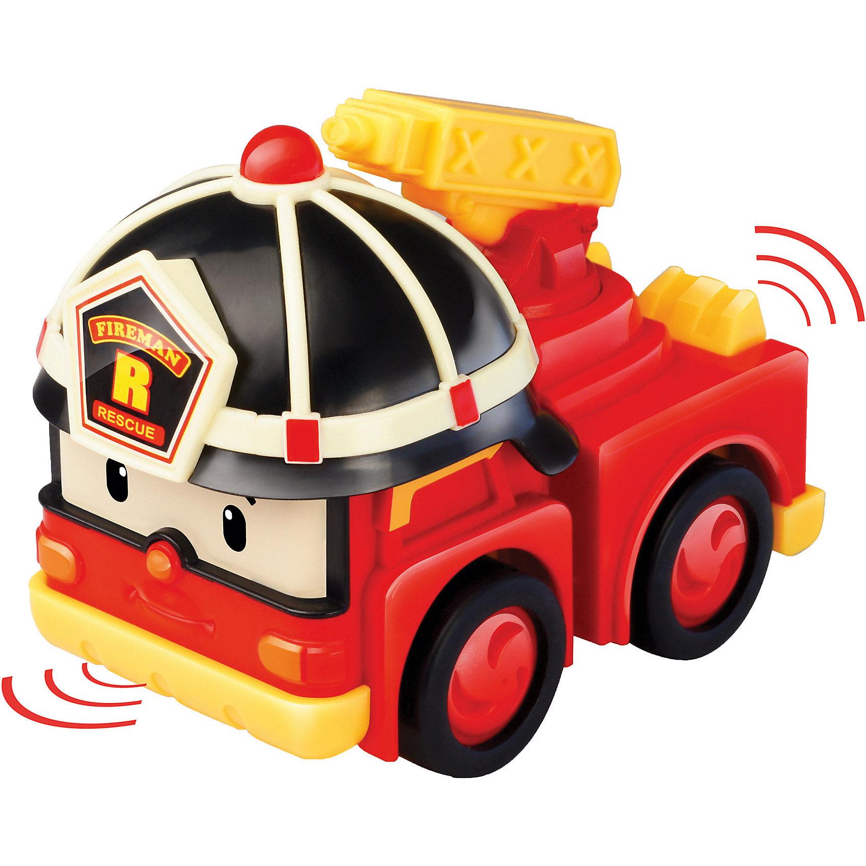 Умная машинка Рой, 6 см, Робокар ПолиРобокар Поли<br>Умная машинка Рой, 6 см, Робокар Поли выполняет важную работу по тушению пожаров и непременно полюбится Вашему малышу своим красочным видом и интересными возможностями! Эта машинка отличается от обычных тем, что является умной – она знает правила дорожного движения, может самостоятельно ехать по трекам всех игровых наборов серии «Робокар Поли», используя встроенный аккумулятор, а если перед ней возникнет препятствие, она останавливается за несколько сантиметров до него, предотвращая аварию.<br><br>Характеристики:<br>-Развивает: воображение, память, логическое мышление, мелкую моторику, речь, фантазию<br>-Игрушка выполнена из высококачественного пластика, с аккуратно обработанными краями, использованные красители не токсичны и гипоаллергенны<br>-Игрушка отлично подойдет как для игры по мотивам мультфильма «Робокар Поли», так и для придумывания новых историй<br>-Можно собрать всю коллекцию машин-спасателей (скорая помощь, пожарная машина, вертолет и полицейский) и разнообразить игры<br>-2 варианта движения машинки: инерционный или на основе встроенного аккумулятора (необходима станция подзарядки)<br><br>Дополнительная информация:<br>-Материалы: пластик<br>-Размеры в упаковке: 12х7х13 см<br>-Вес в упаковке: 102 г<br>-Размер машинки: 6 см<br>-Внимание! Станция подзарядки Energy station (Энерджи Стэйшн) покупается отдельно в составе игровых наборов-треков Умные машинки<br><br>Ребенок с интересом будет патрулировать улицы городка Брумстаун вместе с пожарной машинкой Рой, ехать по вызову на место пожара и тушить бушующее пламя!<br><br>Умную машинку Рой, 6 см, Робокар Поли можно купить в нашем магазине.<br><br>Ширина мм: 120<br>Глубина мм: 70<br>Высота мм: 130<br>Вес г: 102<br>Возраст от месяцев: 36<br>Возраст до месяцев: 84<br>Пол: Унисекс<br>Возраст: Детский<br>SKU: 4281695