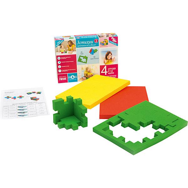 Пазл - конструктор 3 Стихии, PicnMixПазлы для малышей<br>Пазл-конструктор обязательно понравится детям и надолго увлечет их.<br>Игра может проводиться в 2 этапа. Первый предполагает изучение 3-х цветов, усвоение ребёнком такого понятия как «стихия» и соответствующего ей цвета, на данном этапе ребенок осваивает навыки сборки простых элементов головоломки. На втором этапе ребенок учится собирать сложные геометрические фигуры. Пазл-конструктор стимулирует развитие мышления, логики, пространственного воображения, памяти, координации, мелкой моторики, а также помогает усвоить навыки тактильного восприятия.<br><br>Дополнительная информация:<br><br>- Материал: этиленвинилацетат.<br>- Размер: 23х5х16 см.<br><br>Пазл - конструктор 3 Стихии, Pic`n Mix, можно купить в нашем магазине.<br><br>Ширина мм: 162<br>Глубина мм: 51<br>Высота мм: 232<br>Вес г: 207<br>Возраст от месяцев: 36<br>Возраст до месяцев: 120<br>Пол: Унисекс<br>Возраст: Детский<br>SKU: 4284789