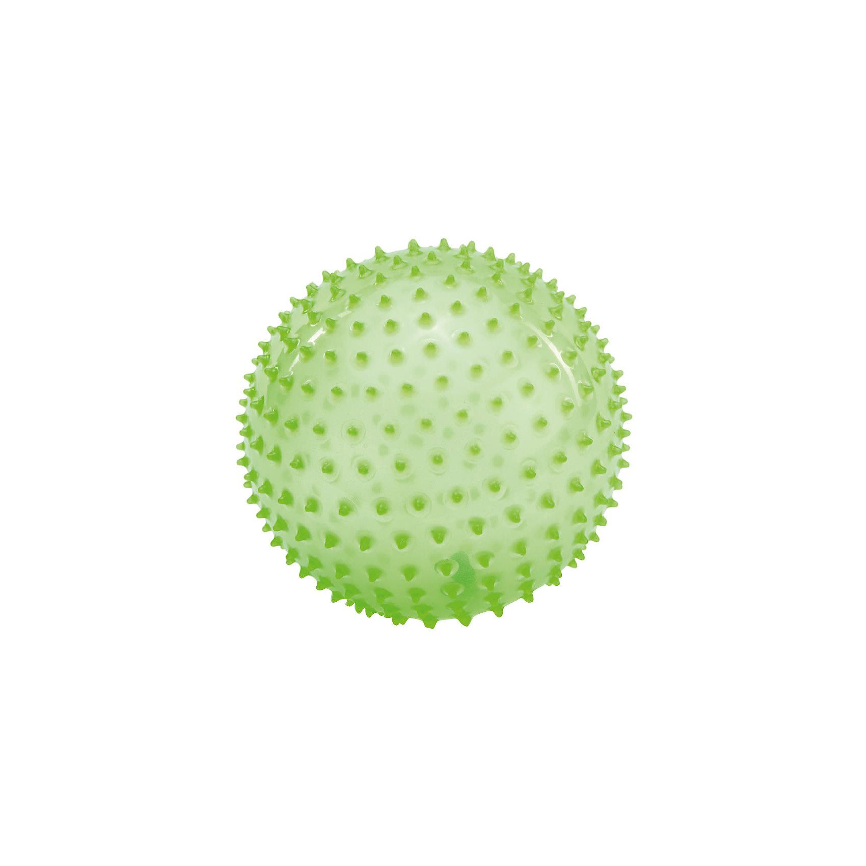 Массажно-игровой мяч, 18 см, PicnMixМячи детские<br>Массажно-игровой мяч способствуют гармоничному развитию всей мускулатуры ребенка, тренировке реакции, координации, цветового и тактильного восприятия. Подходят для игр в воде. Яркий мячики обязательно привлечет внимание малышей.<br><br>Дополнительная информация:<br><br>- Материал: полимер.<br>- Размер: d-18 см.<br>- Цвет: зеленый.<br>- Мяч снабжен ниппелем.<br><br>Массажно-игровой мяч, 18 см, Pic`n Mix, можно купить в нашем магазине.<br><br>Ширина мм: 210<br>Глубина мм: 228<br>Высота мм: 180<br>Вес г: 282<br>Возраст от месяцев: 0<br>Возраст до месяцев: 72<br>Пол: Унисекс<br>Возраст: Детский<br>SKU: 4284795