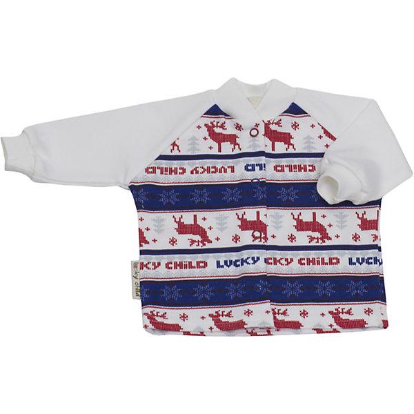 Утепленная кофточка Lucky ChildКофточки и распашонки<br>Утепленная кофточка Lucky Child<br>Кофта из коллекции «Скандинавия» будет самым теплым и заботливым подарком вашему малышу. Широкие горловина и манжеты – лучший выбор для нежной детской кожи, они не будут натирать и сползать.<br>Состав : 100% хлопок<br><br>Ширина мм: 157<br>Глубина мм: 13<br>Высота мм: 119<br>Вес г: 200<br>Цвет: красный<br>Возраст от месяцев: 0<br>Возраст до месяцев: 3<br>Пол: Унисекс<br>Возраст: Детский<br>Размер: 56/62,86/92,68/74,62/68,80/86,74/80<br>SKU: 4284907