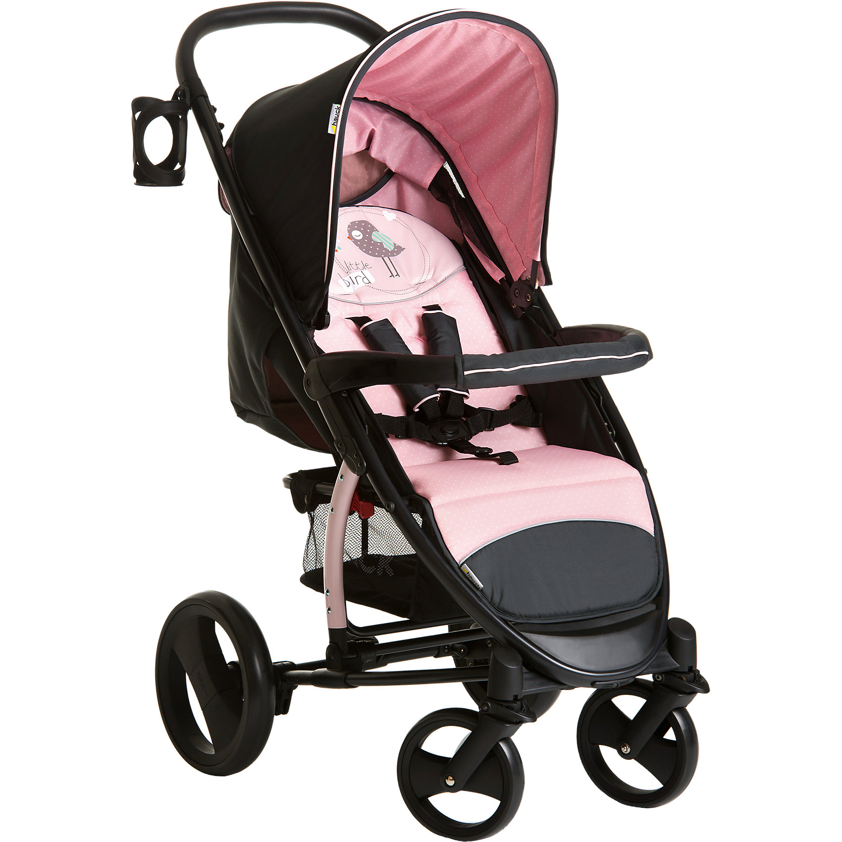 hauck Прогулочная коляска Malibu XL, Hauck, birdie прогулочная коляска cool baby kdd 6699gb t fuchsia light grey