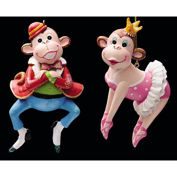Украшение Звезда театра в ассортиментеЁлочные игрушки<br>Новогоднее Украшение Звезда театра в ассортименте станет необычным украшением для Вашего интерьера или красавицы ёлочки и создаст незабываемую атмосферу праздника! Эта очаровательная обезьянка послужит отличным подарком близким или друзьям, а будучи символом наступающего года, эта чудесная игрушка обязательно принесет удачу в дом!<br>Игрушка выполнена в виде обезьянки-балерины в розовом наряде и пуантах, золотая корона на голове или обезьянки-франта в пиджаке, шляпке, с бабочкой и в стильных туфлях.<br><br>Дополнительная информация:<br>-Материалы: полирезина<br>-Размер в упаковке: 6х4,5х11 см<br>-Вес в упаковке: 103 г<br>-Размер: 11 см<br>-В ассортименте: обезьяна-балерина или обезьяна в мужском костюме (Внимание! Заранее выбрать невозможно, при заказе нескольких возможно получение одинаковых)<br><br>Украшение Звезда театра в ассортименте можно купить в нашем магазине.<br><br>Ширина мм: 60<br>Глубина мм: 45<br>Высота мм: 110<br>Вес г: 103<br>Возраст от месяцев: 84<br>Возраст до месяцев: 2147483647<br>Пол: Унисекс<br>Возраст: Детский<br>SKU: 4286667