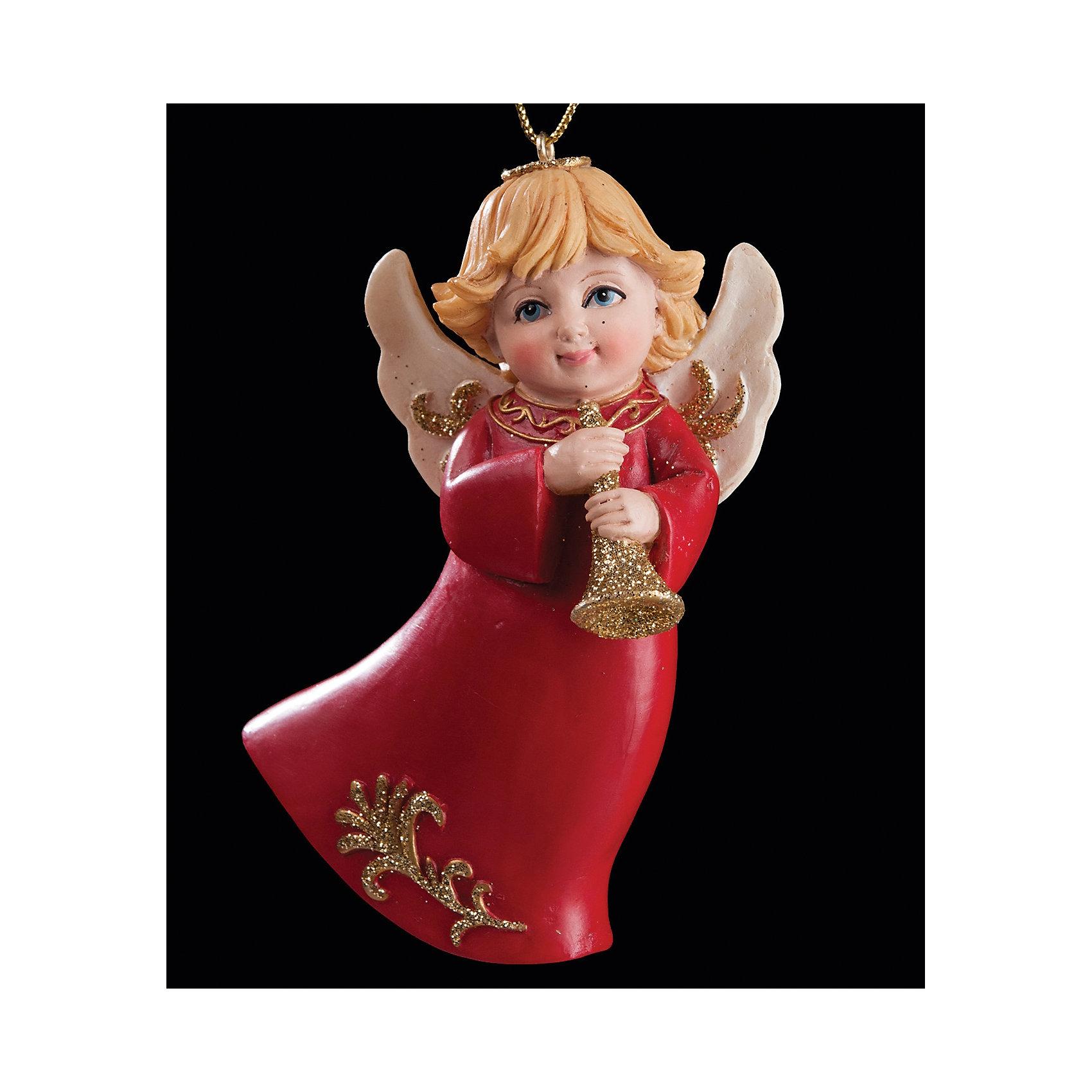 Украшение Ангел музыки 9 смУкрашение Ангел музыки 9 см выполнено в виде златовласого ангела с позолоченной дудочкой. Фантазия и чудесное украшение «Ангел музыки» помогут Вам вдохнуть яркий новогодний дух в свой дом!<br><br>Дополнительная информация:<br>-Материалы: полирезина, глиттер (блестки)<br>-Размер в упаковке: 5х5х9 см<br>-Вес в упаковке: 69 г<br>-Размер: 9 см<br><br>Украшение Ангел музыки 9 см можно купить в нашем магазине.<br><br>Ширина мм: 50<br>Глубина мм: 20<br>Высота мм: 90<br>Вес г: 69<br>Возраст от месяцев: 84<br>Возраст до месяцев: 2147483647<br>Пол: Унисекс<br>Возраст: Детский<br>SKU: 4286681