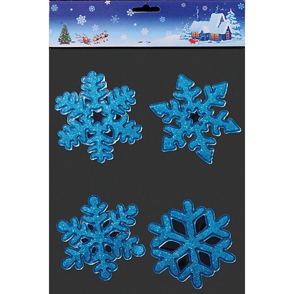 Наклейки на окно Лазурные снежинки 9,5 смНовинки Новый Год<br>Наклейки на окно Лазурные снежинки 9,5 см напомнят фрагменты лучших рождественских открыток! Удивительно красивые переливающиеся снежинки с 4 разными узорами отлично подойдут для придания праздничной атмосферы и могут быть использованы в качестве декора как окон так и интерьера.<br><br>Дополнительная информация:<br>-Материалы: силикон<br>-Размер в упаковке: 9,5х0,1х9,5 см<br>-Вес в упаковке: 31 г<br>-Размер: 9,5 см<br><br>Наклейки на окно Лазурные снежинки 9,5 см можно купить в нашем магазине.<br><br>Ширина мм: 95<br>Глубина мм: 1<br>Высота мм: 95<br>Вес г: 31<br>Возраст от месяцев: 84<br>Возраст до месяцев: 2147483647<br>Пол: Унисекс<br>Возраст: Детский<br>SKU: 4286688