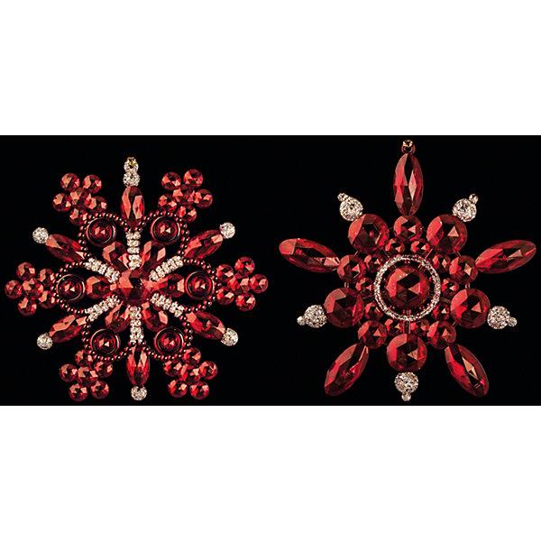 Украшение Снежинка-бусинка в ассортиментеЁлочные игрушки<br>Оригинальное Украшение Снежинка-бусинка в ассортименте в виде снежинки красного цвета и украшенное бусинами позволит Вашей елочке выглядеть по-настоящему стильно и волшебно. Кроме того, это украшение – отличный сувенир для Ваших близких и друзей к новогоднему празднику! <br><br>Дополнительная информация:<br>-Материалы: пластик<br>-Размер в упаковке: 12,5х1х12,5 см<br>-Вес в упаковке: 40 г<br>-Размер: 12 см<br>-В ассортименте: 2 дизайна (Внимание! Заранее выбрать невозможно, при заказе нескольких возможно получение одинаковых)<br><br>Украшение Снежинка-бусинка в ассортименте можно купить в нашем магазине.<br><br>Ширина мм: 125<br>Глубина мм: 10<br>Высота мм: 125<br>Вес г: 40<br>Возраст от месяцев: 84<br>Возраст до месяцев: 2147483647<br>Пол: Унисекс<br>Возраст: Детский<br>SKU: 4286711