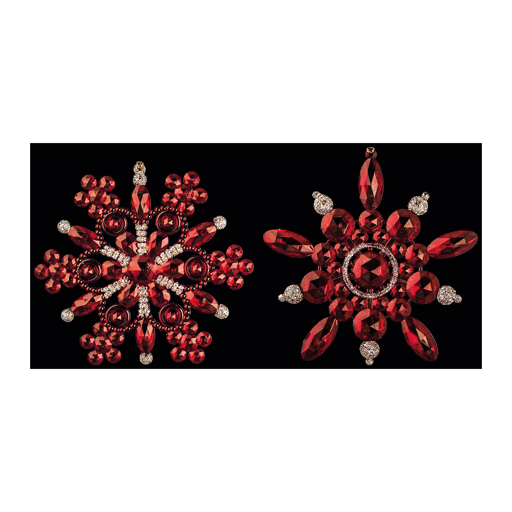 Украшение Снежинка-бусинка в ассортиментеОригинальное Украшение Снежинка-бусинка в ассортименте в виде снежинки красного цвета и украшенное бусинами позволит Вашей елочке выглядеть по-настоящему стильно и волшебно. Кроме того, это украшение – отличный сувенир для Ваших близких и друзей к новогоднему празднику! <br><br>Дополнительная информация:<br>-Материалы: пластик<br>-Размер в упаковке: 12,5х1х12,5 см<br>-Вес в упаковке: 40 г<br>-Размер: 12 см<br>-В ассортименте: 2 дизайна (Внимание! Заранее выбрать невозможно, при заказе нескольких возможно получение одинаковых)<br><br>Украшение Снежинка-бусинка в ассортименте можно купить в нашем магазине.<br><br>Ширина мм: 125<br>Глубина мм: 10<br>Высота мм: 125<br>Вес г: 40<br>Возраст от месяцев: 84<br>Возраст до месяцев: 2147483647<br>Пол: Унисекс<br>Возраст: Детский<br>SKU: 4286711