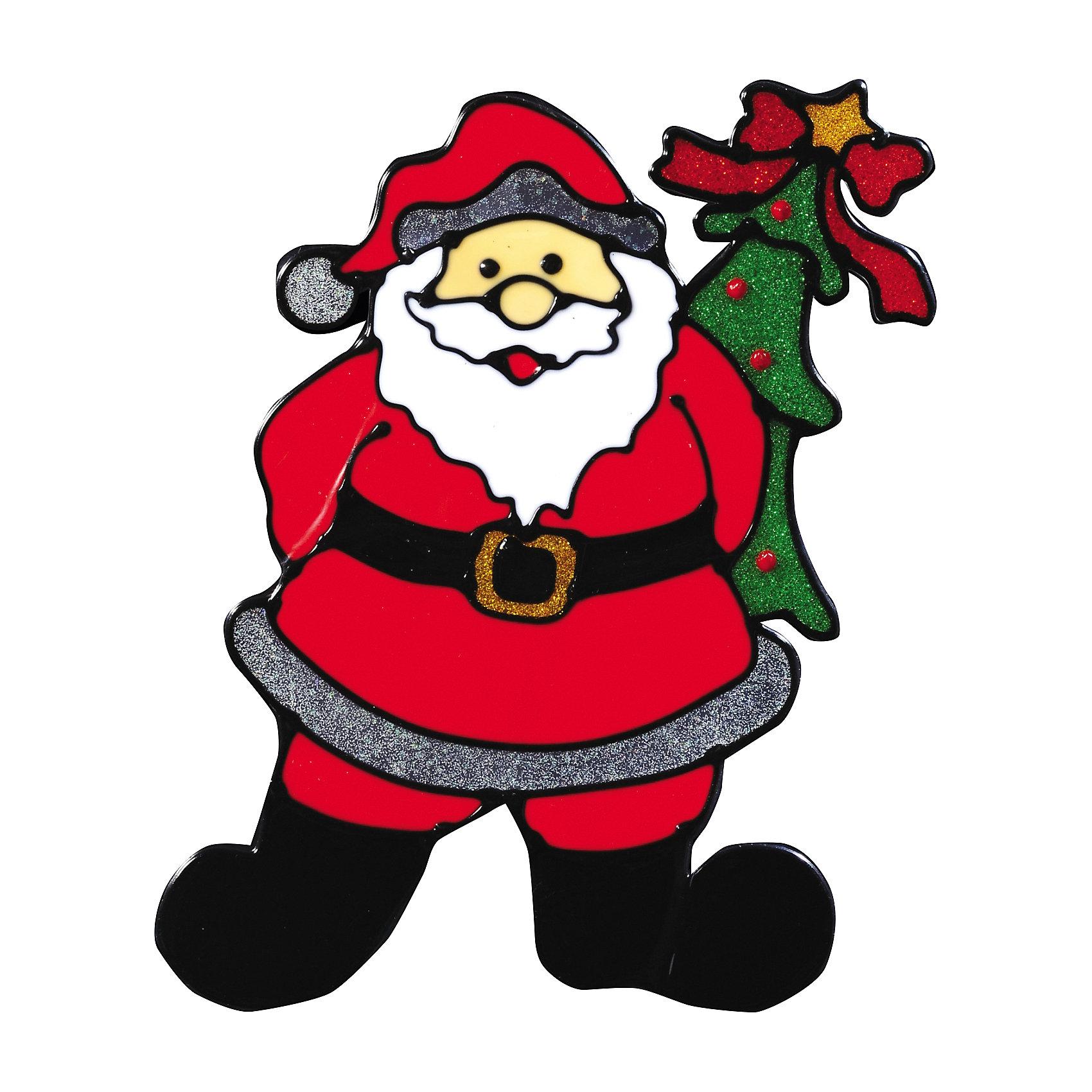 Наклейка на окно Счастливый праздник 16,5*19,5 смНовинки Новый Год<br>Яркая Наклейка на окно Счастливый праздник 16,5*19,5 см изображает озорного Санта Клауса с елочкой за пазухой и поможет вдохнуть атмосферу новогодних праздников в Ваш дом! А с помощью нескольких наклеек на новогоднюю тематику можно составлять на стекле целые зимние картины, которые будут радовать глаз и поднимать настроение! Также Вы можете преподнести этот сувенир в качестве мини-презента коллегам, близким и друзьям с пожеланиями счастливого Нового Года!<br><br>Дополнительная информация:<br>-Материалы: силикон, блестки<br>-Размер в упаковке: 16,5х0,5х19,5 см<br>-Вес в упаковке: 31 г<br>-Размер: 16,5х19,5 см<br><br>Наклейка на окно Счастливый праздник 16,5*19,5 см можно купить в нашем магазине.<br><br>Ширина мм: 165<br>Глубина мм: 5<br>Высота мм: 195<br>Вес г: 31<br>Возраст от месяцев: 84<br>Возраст до месяцев: 2147483647<br>Пол: Унисекс<br>Возраст: Детский<br>SKU: 4286719