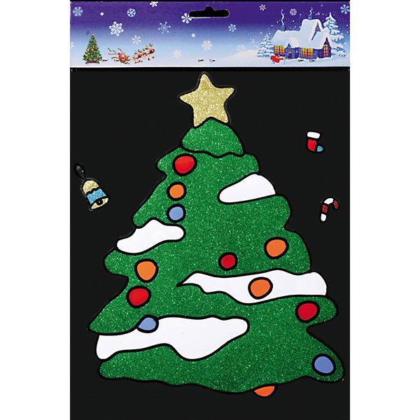 Наклейка на окно Заснеженная ёлочка 25*37 смНовинки Новый Год<br>С помощью большой витражной Наклейки на окно Заснеженная ёлочка 25*37 см и других новогодних аксессуаров можно составлять на стекле целые зимние сюжеты, которые будут радовать глаз и поднимать настроение в праздничные дни! Также Вы можете преподнести этот сувенир в качестве мини-презента коллегам, близким и друзьям с пожеланиями счастливого Нового Года!<br><br>Дополнительная информация:<br>-Материалы: силикон, блестки<br>-Размер в упаковке: 25х0,5х37 см<br>-Вес в упаковке: 92 г<br>-Размер: 25х37 см<br><br>Наклейка на окно Заснеженная ёлочка 25*37 см можно купить в нашем магазине.<br><br>Ширина мм: 250<br>Глубина мм: 5<br>Высота мм: 370<br>Вес г: 92<br>Возраст от месяцев: 84<br>Возраст до месяцев: 2147483647<br>Пол: Унисекс<br>Возраст: Детский<br>SKU: 4286722
